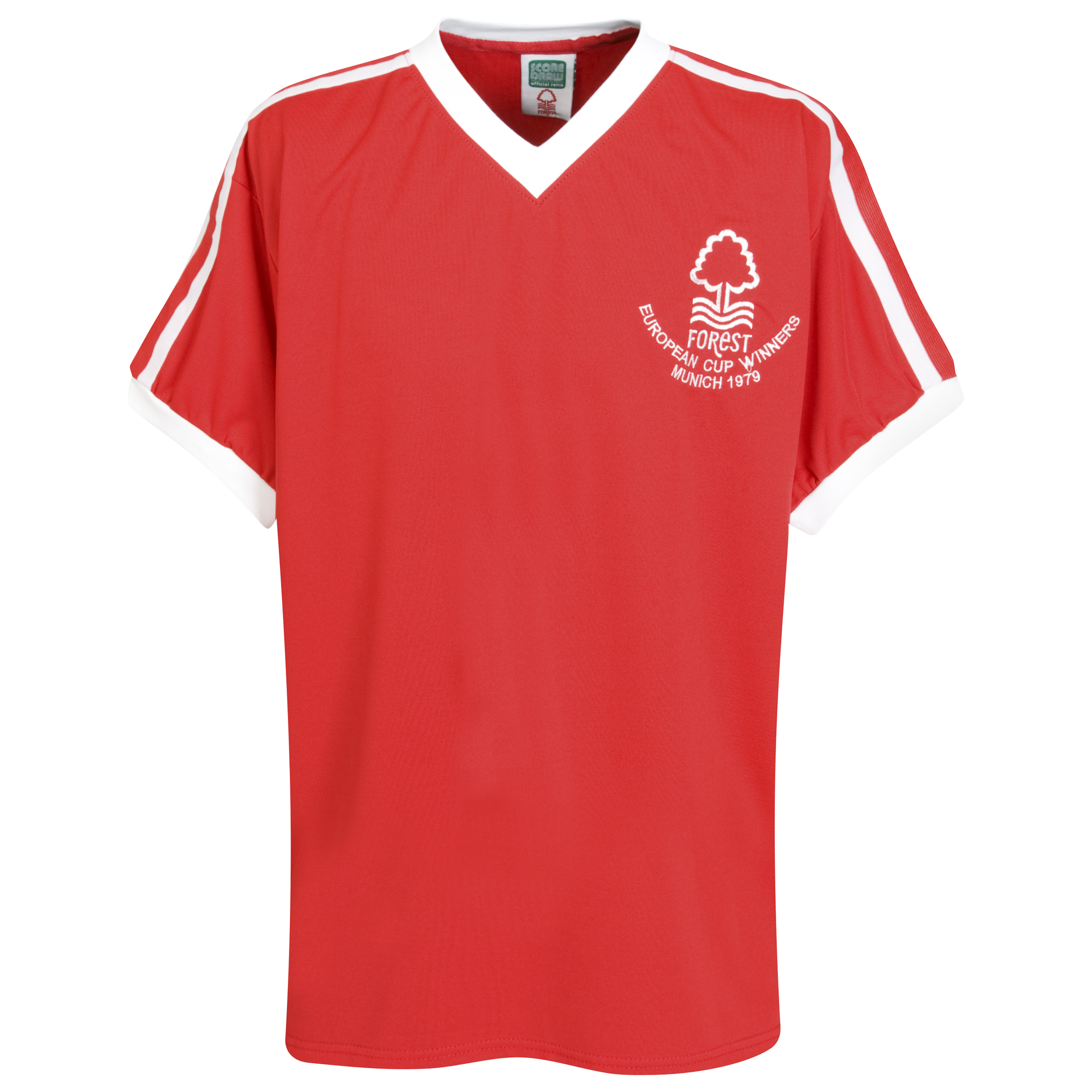 Nottingham Forest 1979 European Cup Winners Home Shirt Red