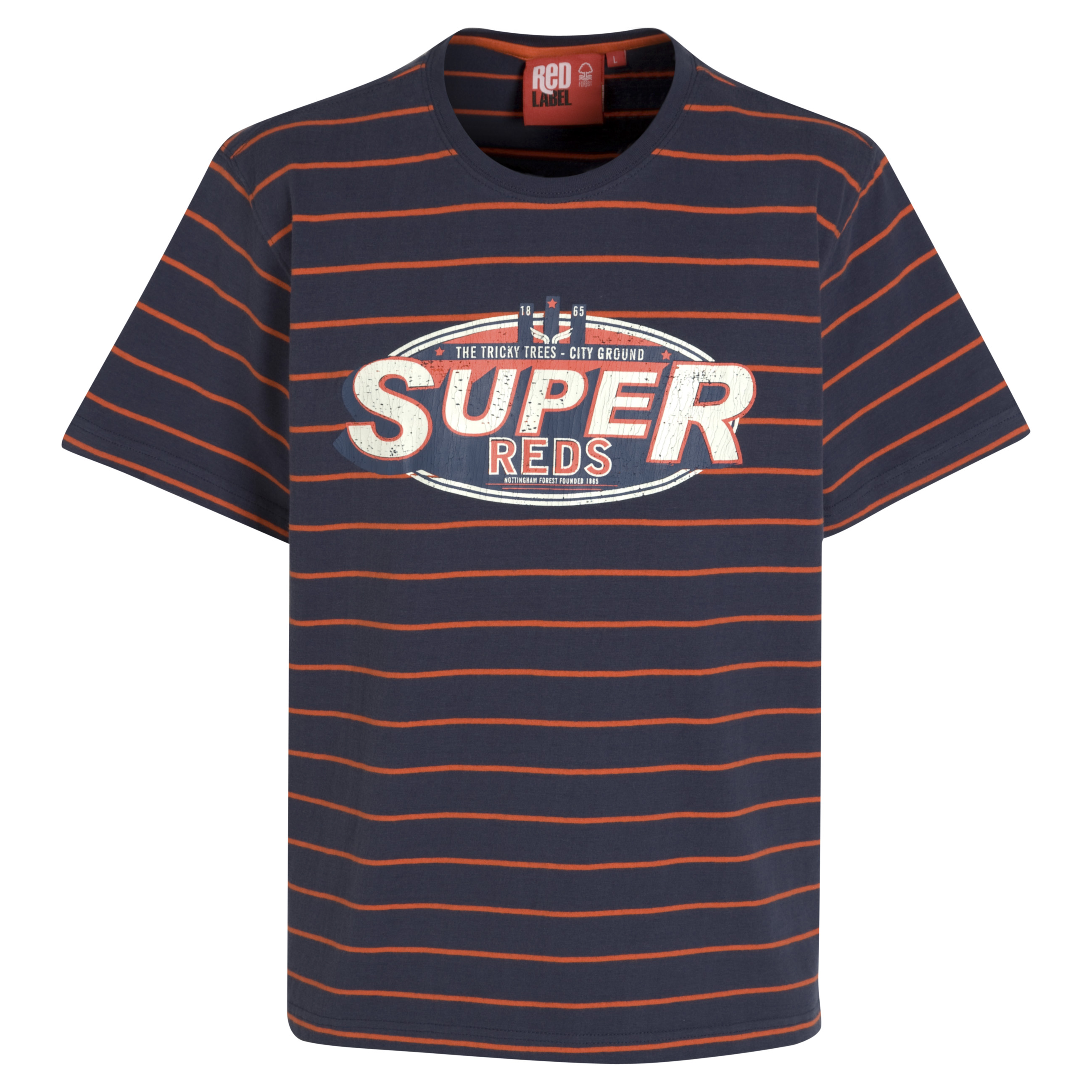 Nottingham Forest Reef T-Shirt - Navy/ Orange
