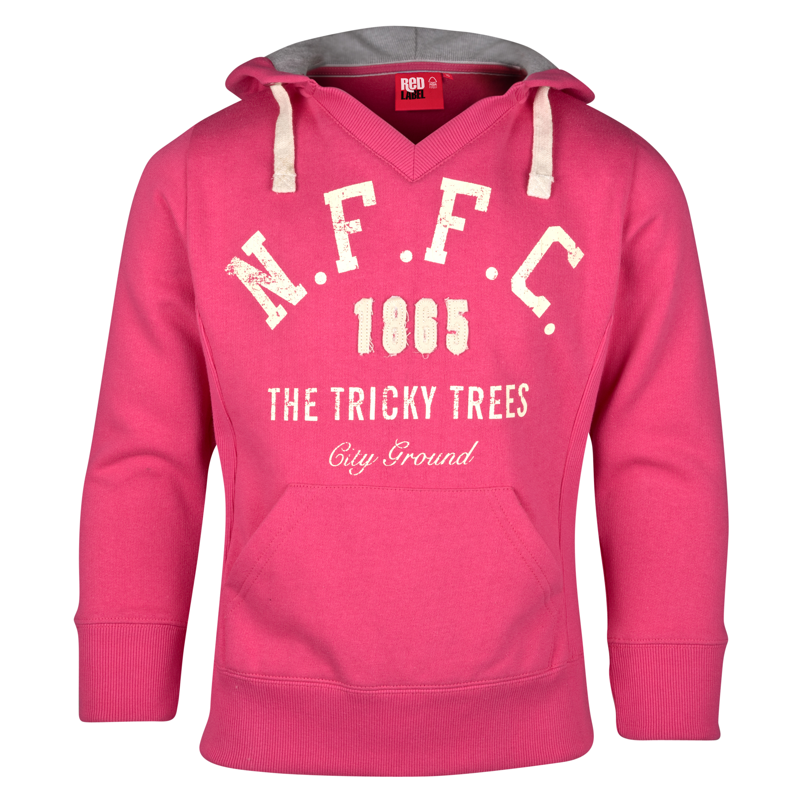 Nottingham Forest Graduate Hoodie - Geranium - Older Girls