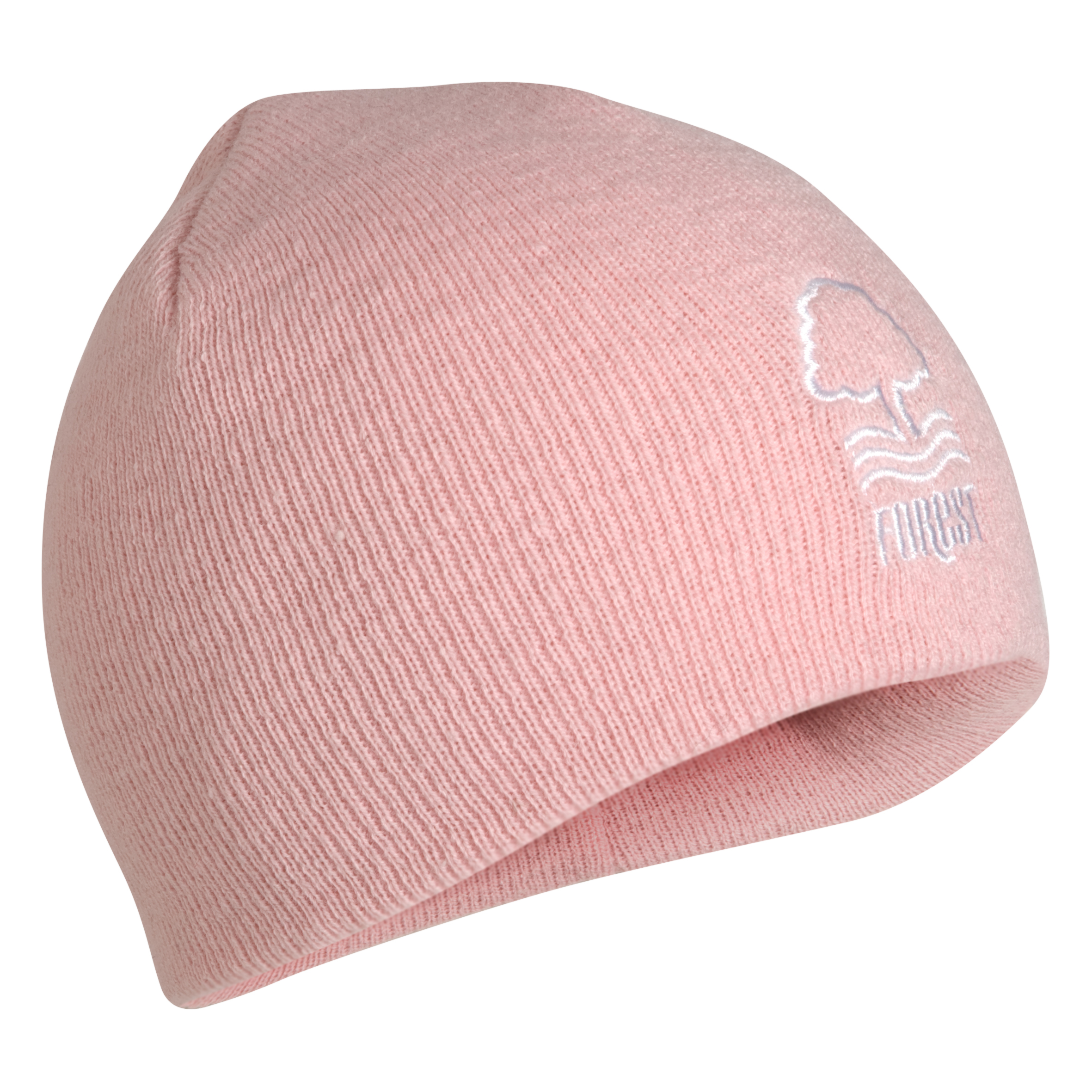 Nottingham Forest Essentials Fleece Lined Beanie Hat - Pink - Girls