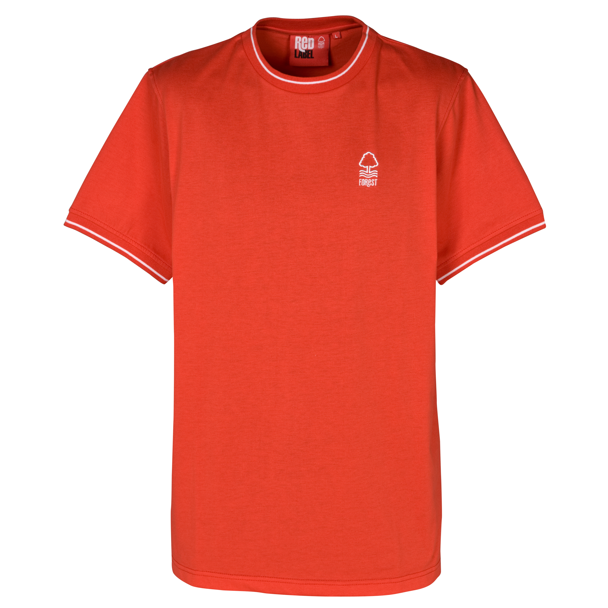Nottingham Forest Essential Boulder T-Shirt - Red