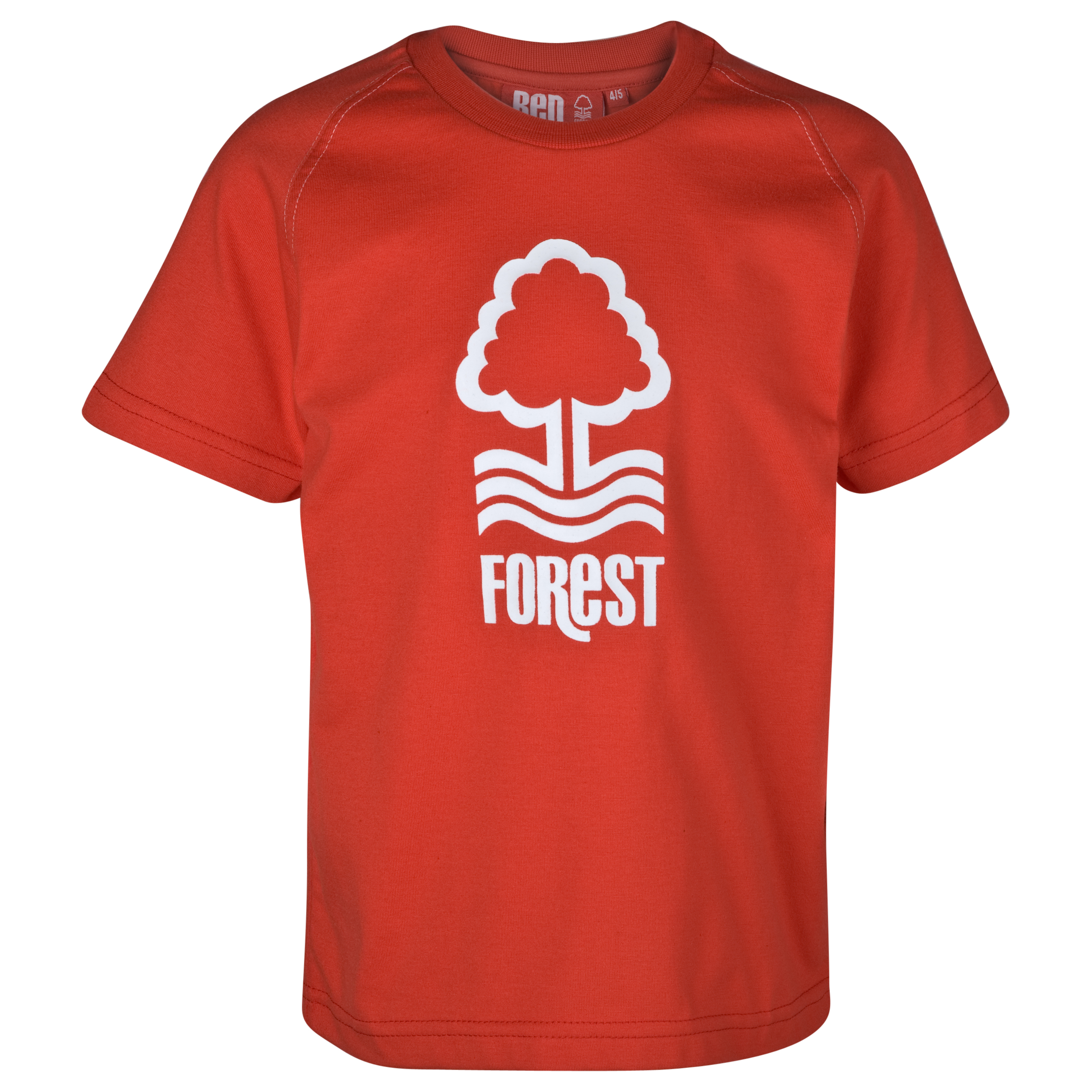 Nottingham Forest Essential Agate T-Shirt-Red - Older Boys
