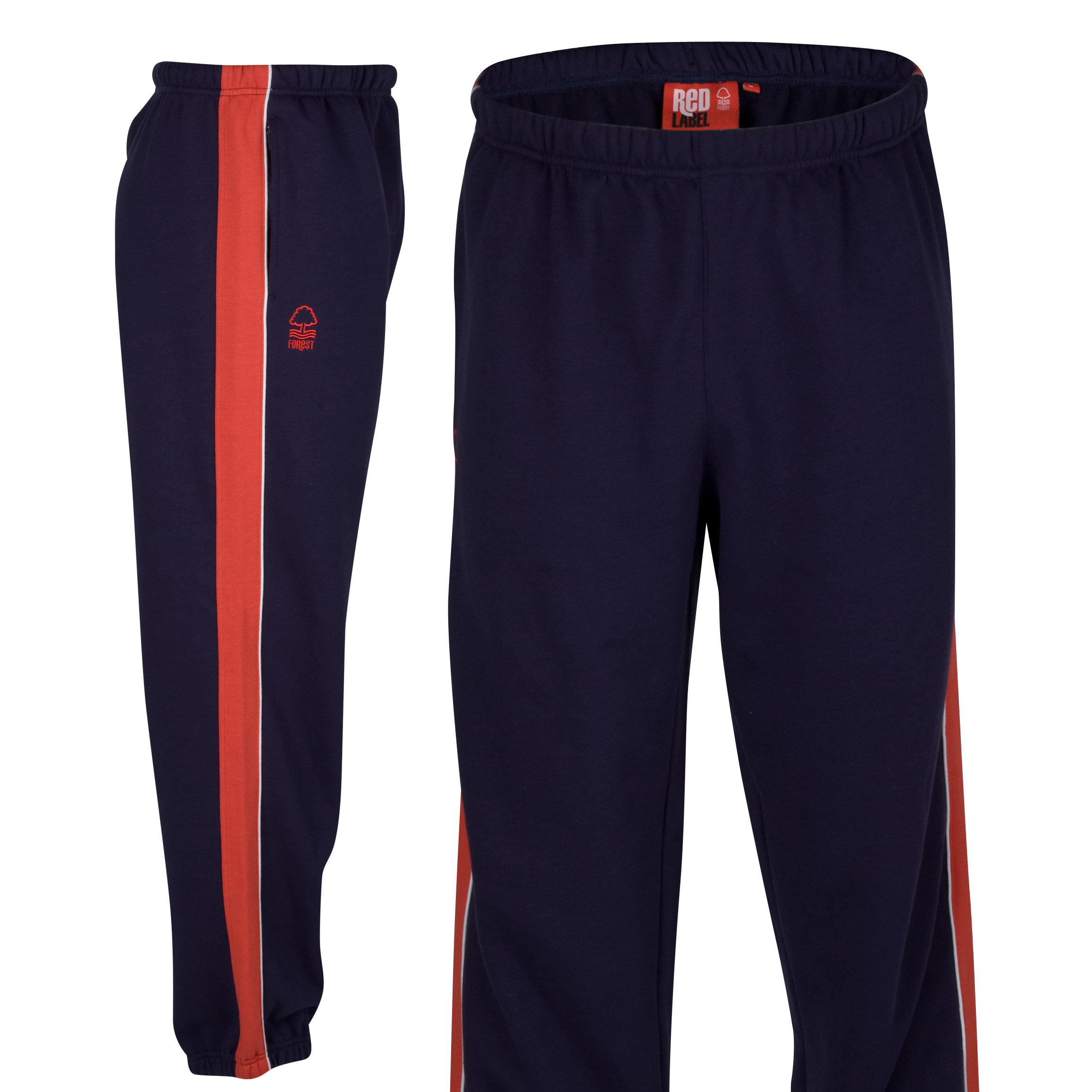 Nottingham Forest Essential Mountain Pant - Navy/Red - Older Boys