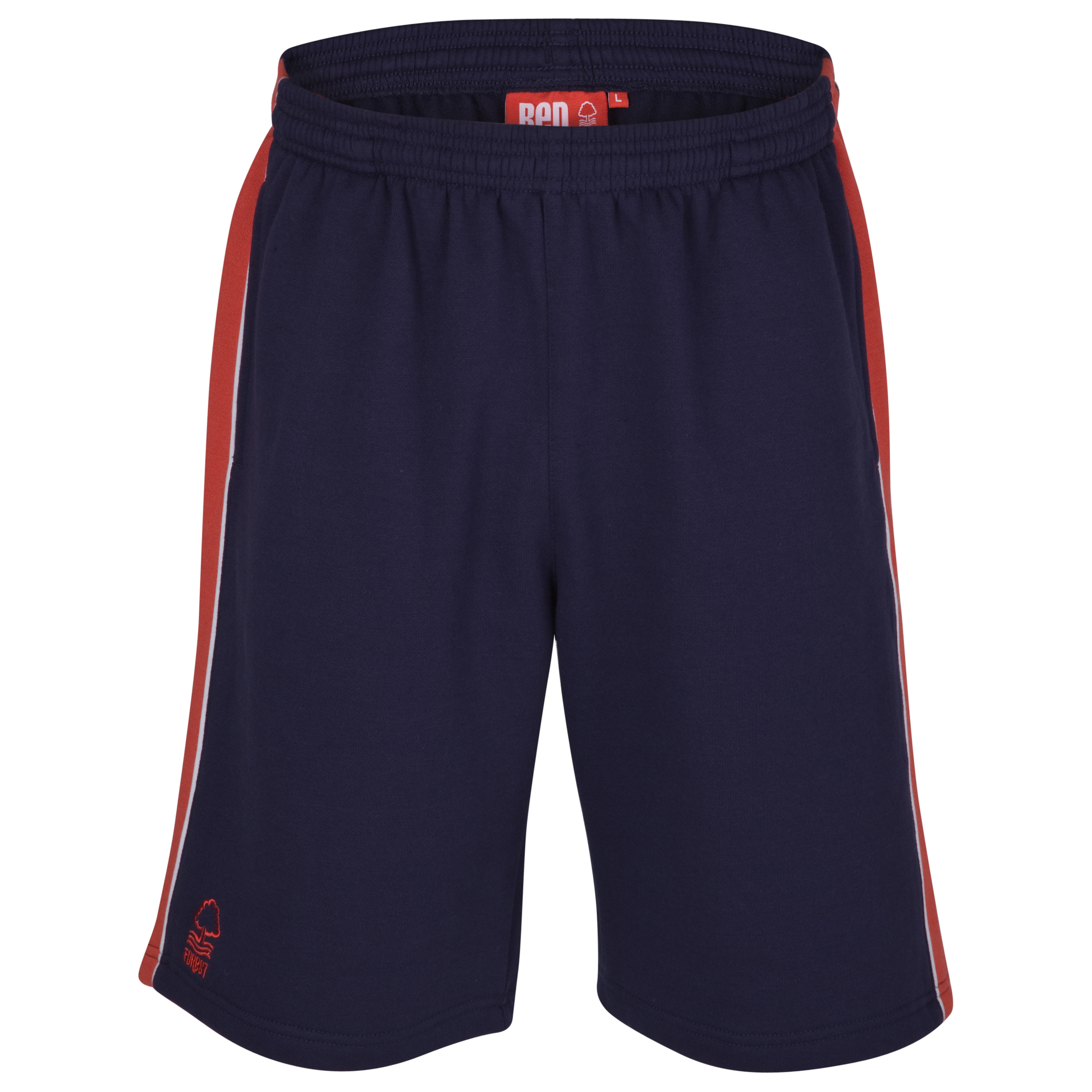 Nottingham Forest Essential Pebble Short- Navy/Red - Infant Boys