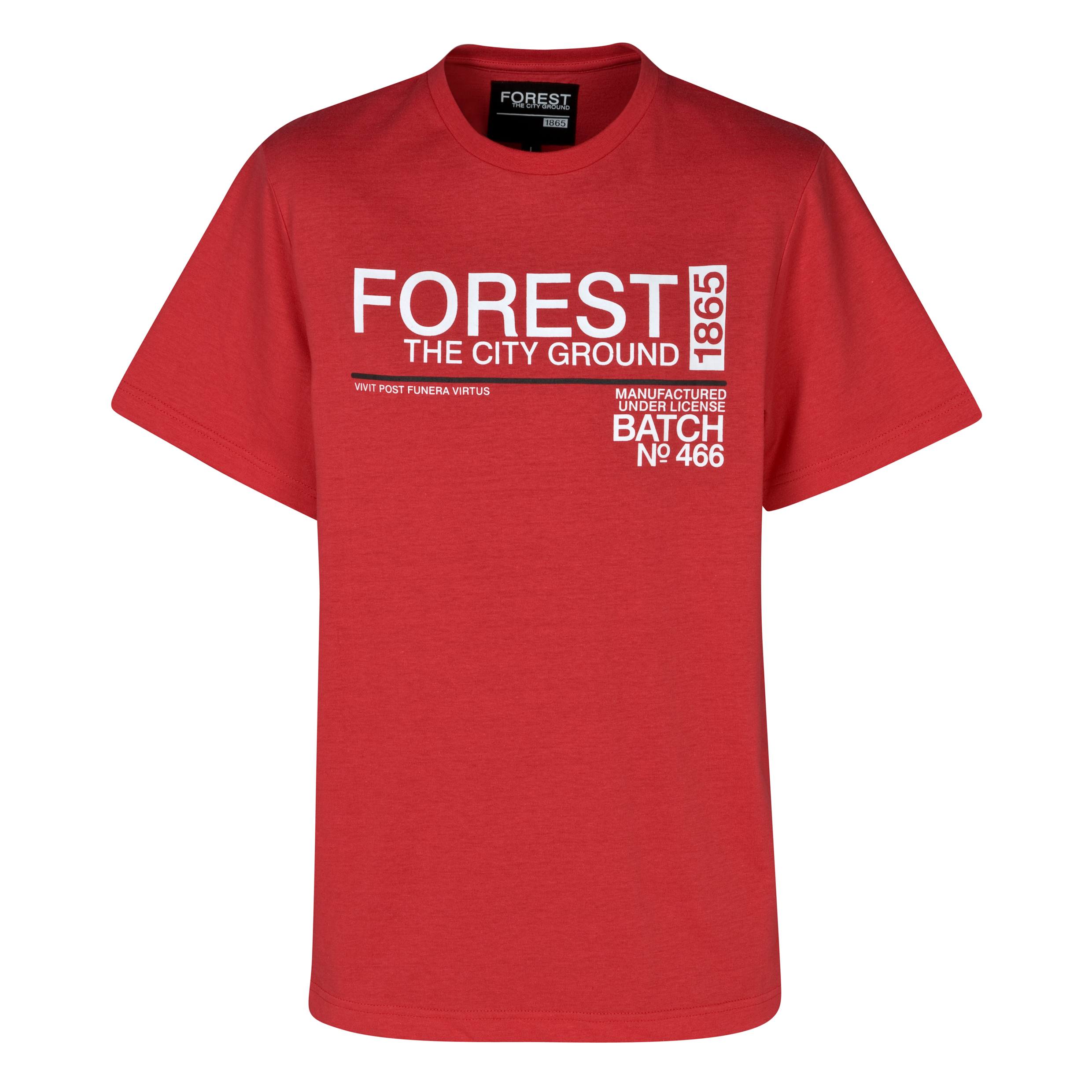 Nottingham Forest Group T-Shirt - True Red