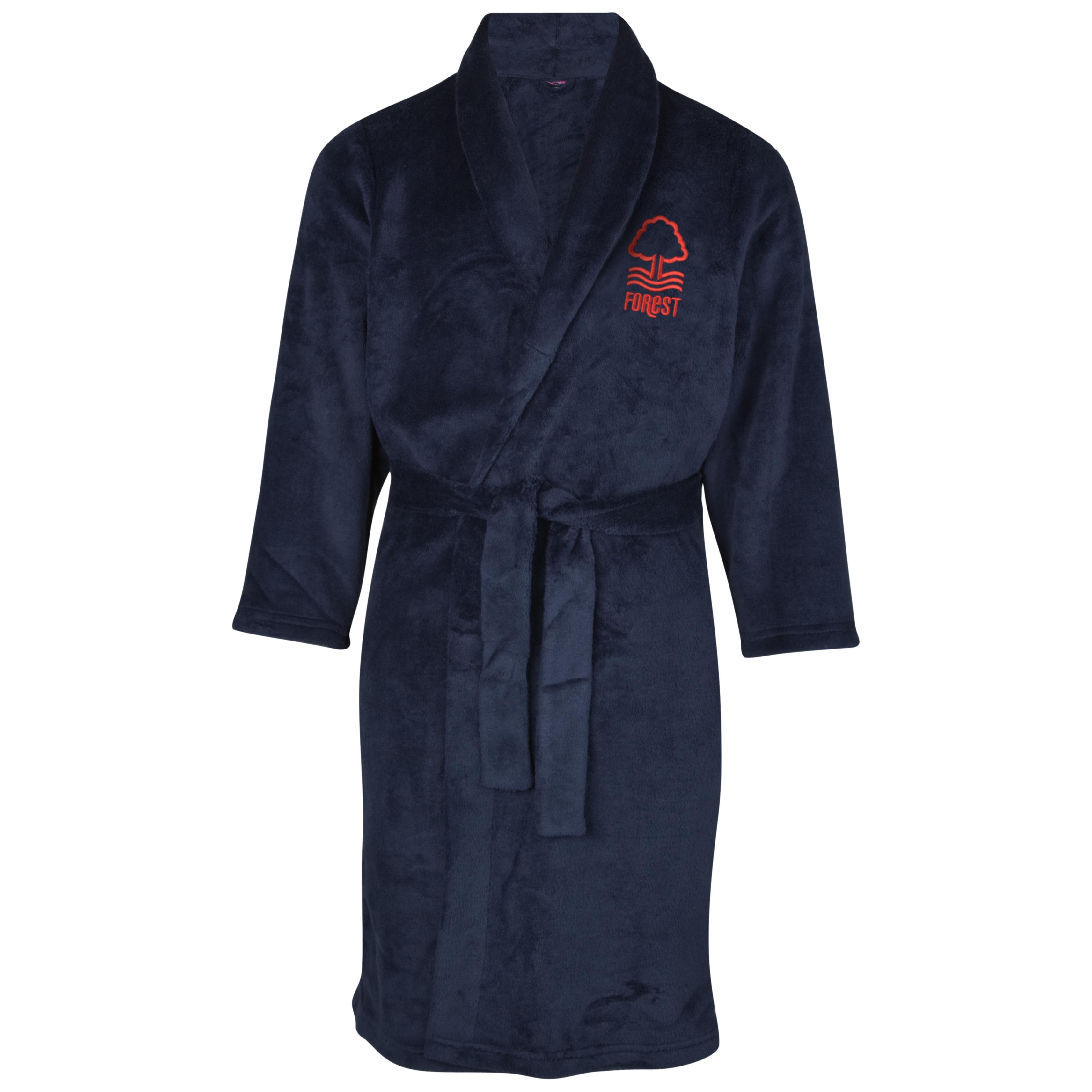 Nottingham Forest Supersoft Robe - Navy - Infant Boys