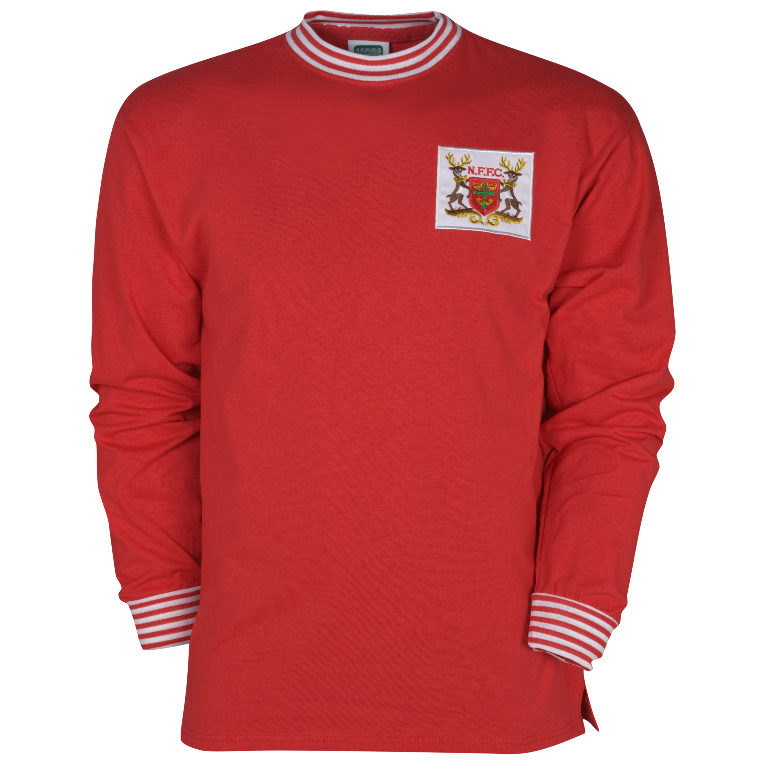 Nottingham Forest 1966 Home Shirt Long Sleeved Red