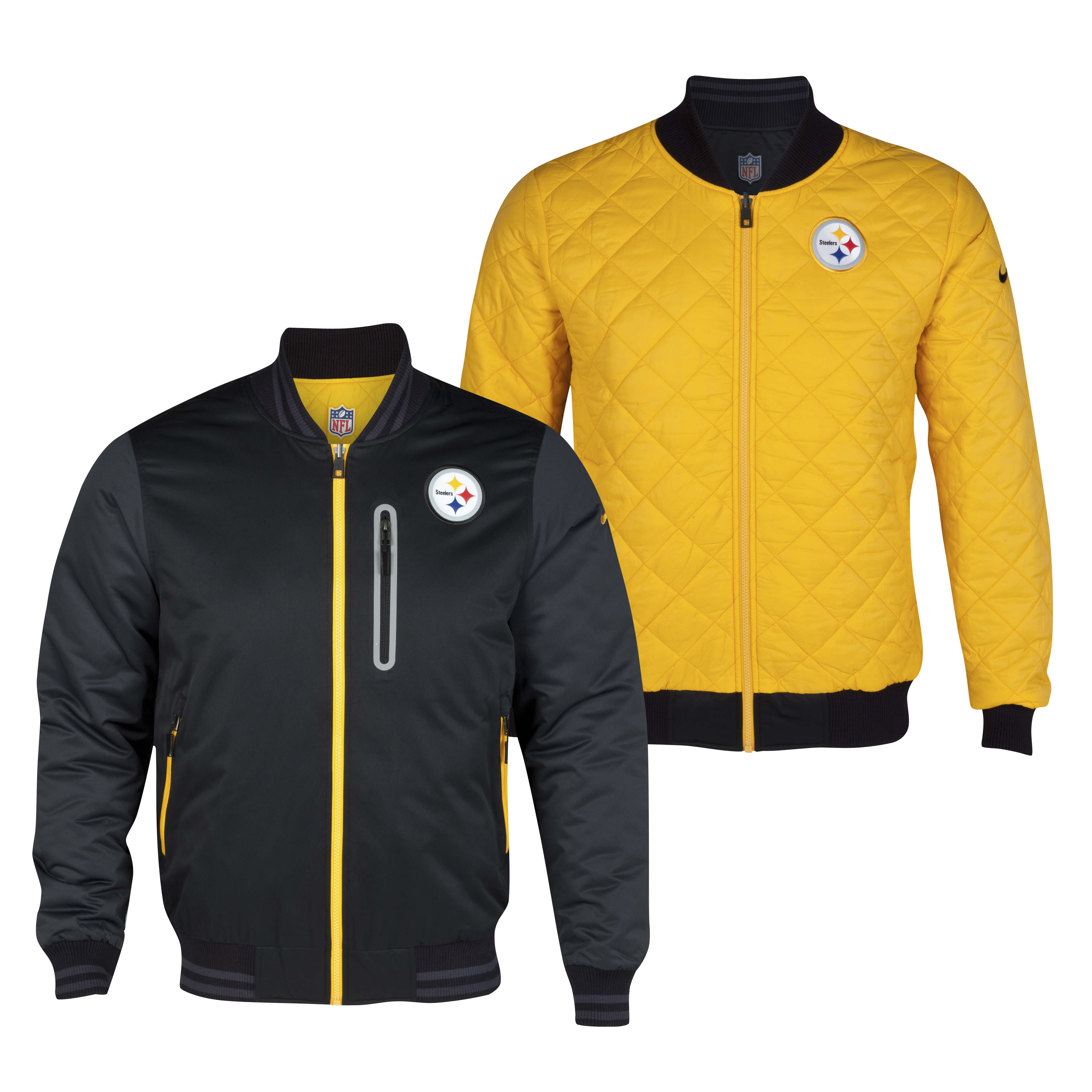Pittsburgh Steelers Destroyer Jacket - Black