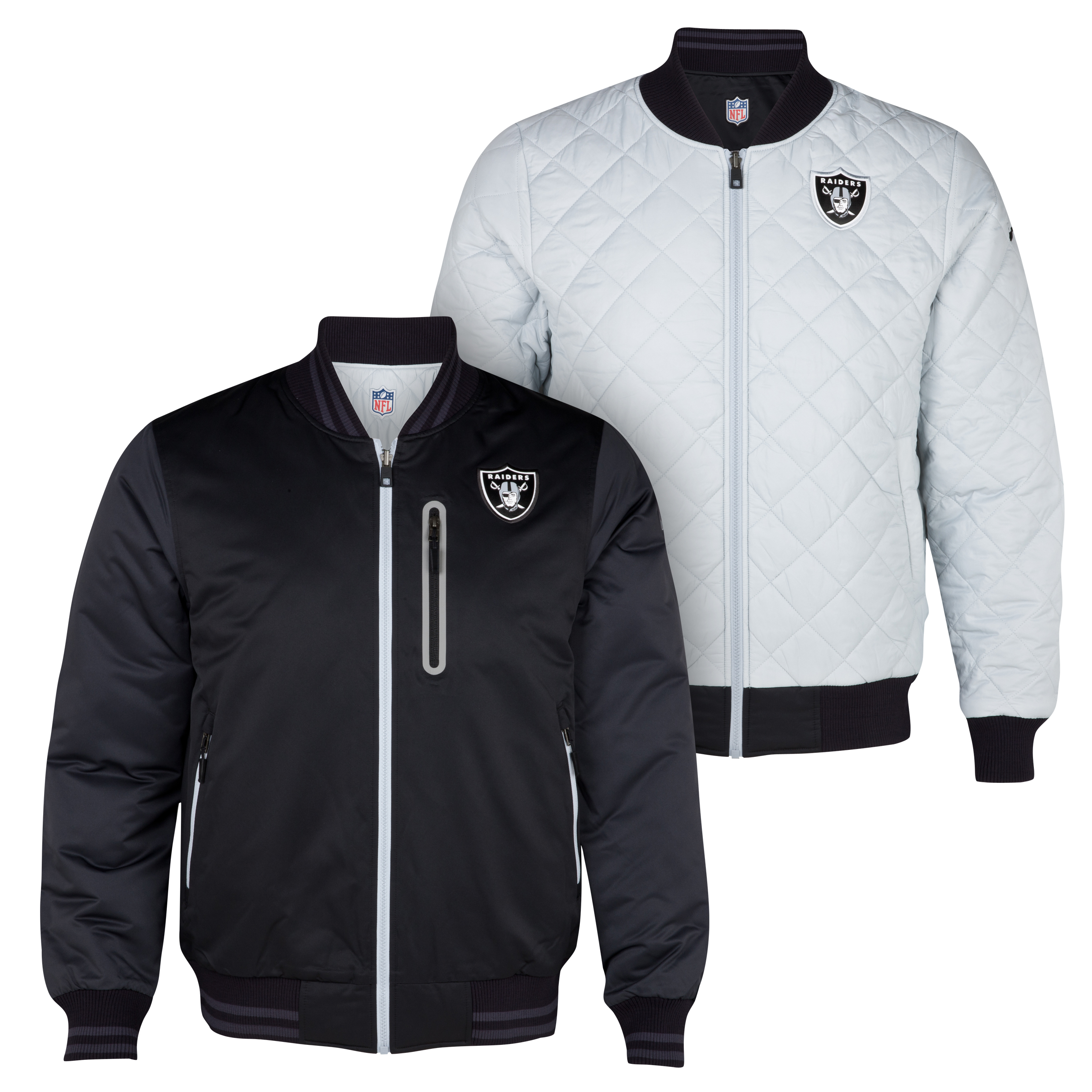 Oakland Raiders Destroyer Jacket - Black