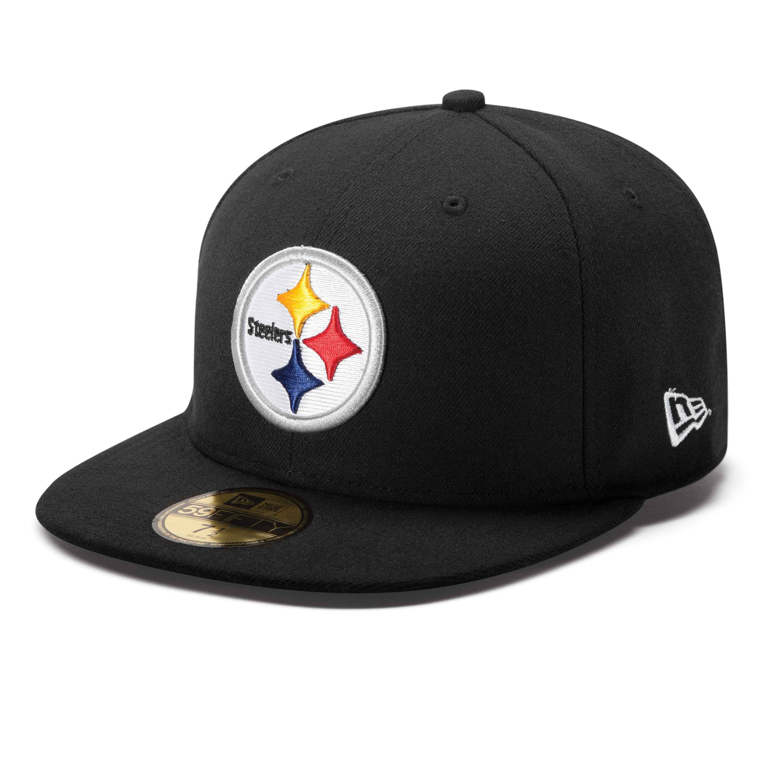 Pittsburgh Steelers New Era 59FIFTY Fitted On-Field Cap