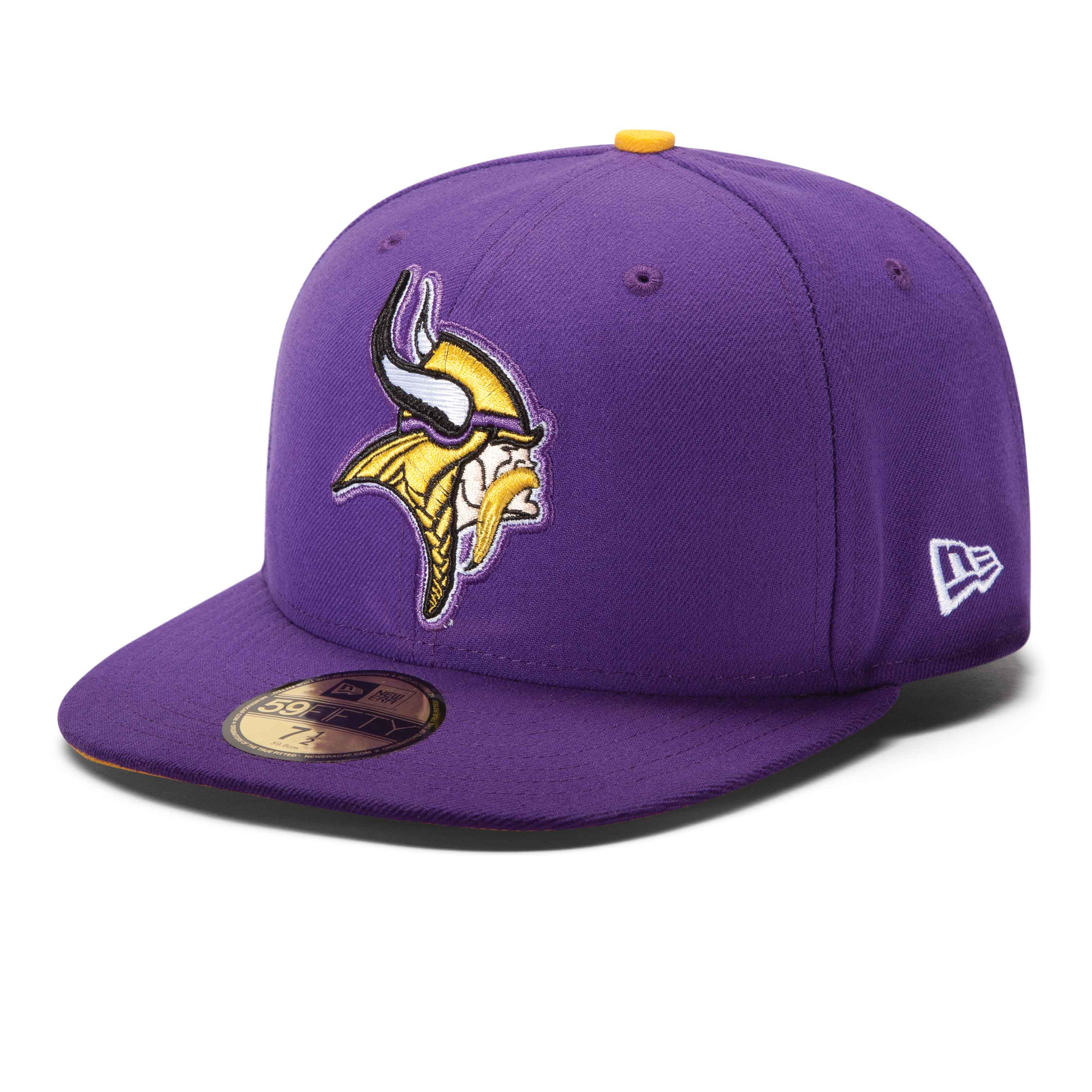 Minnesota Vikings New Era 59FIFTY Fitted On-Field Cap