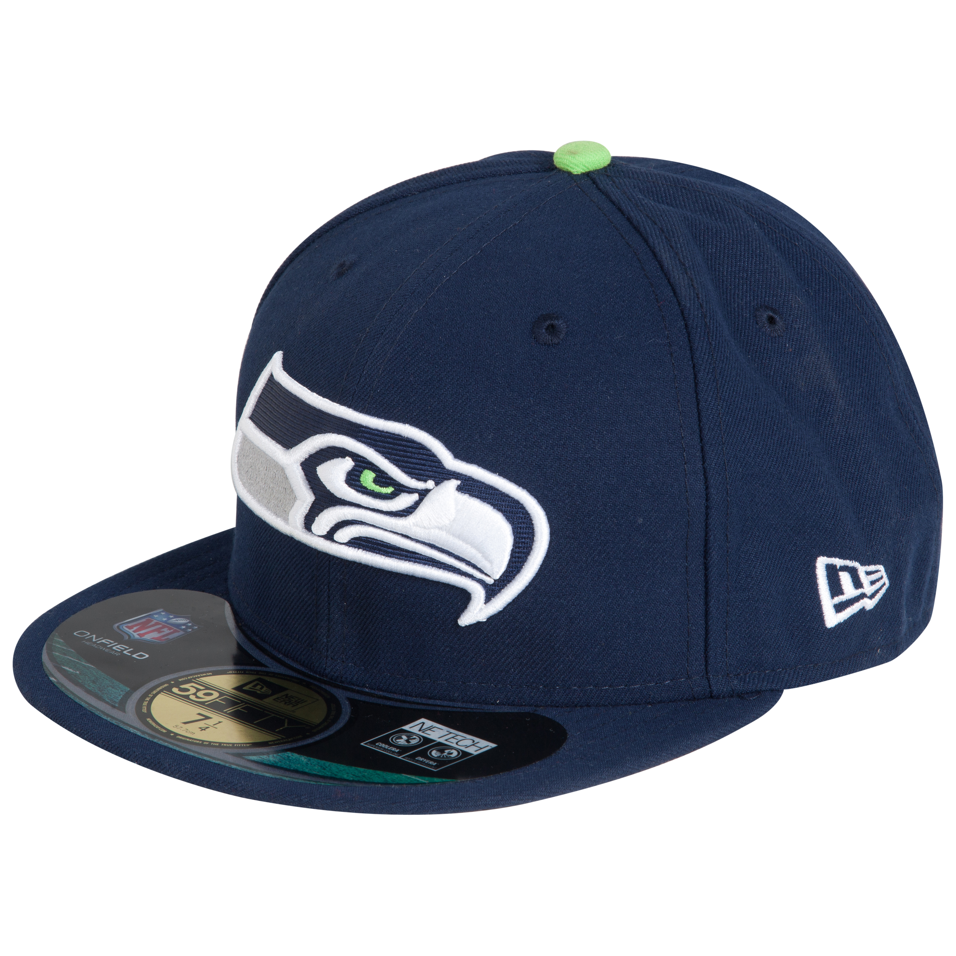 Seattle Seahawks New Era 59FIFTY Authentic On Field Fitted Cap