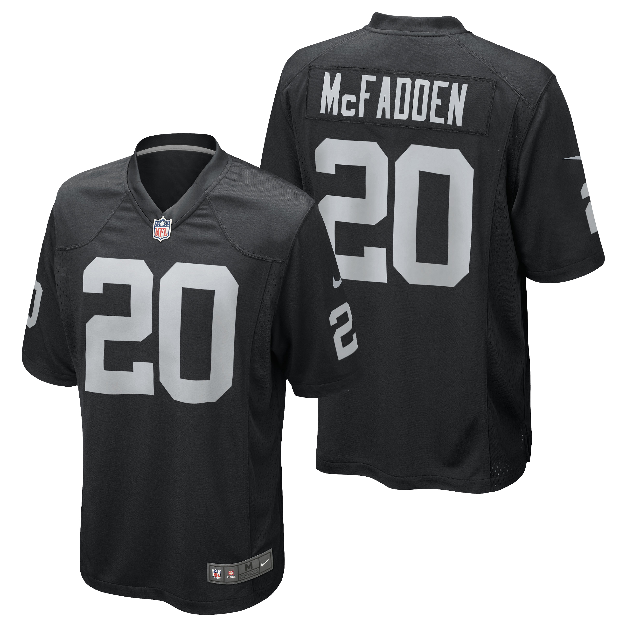 Oakland Raiders Home Game Jersey - Darren McFadden