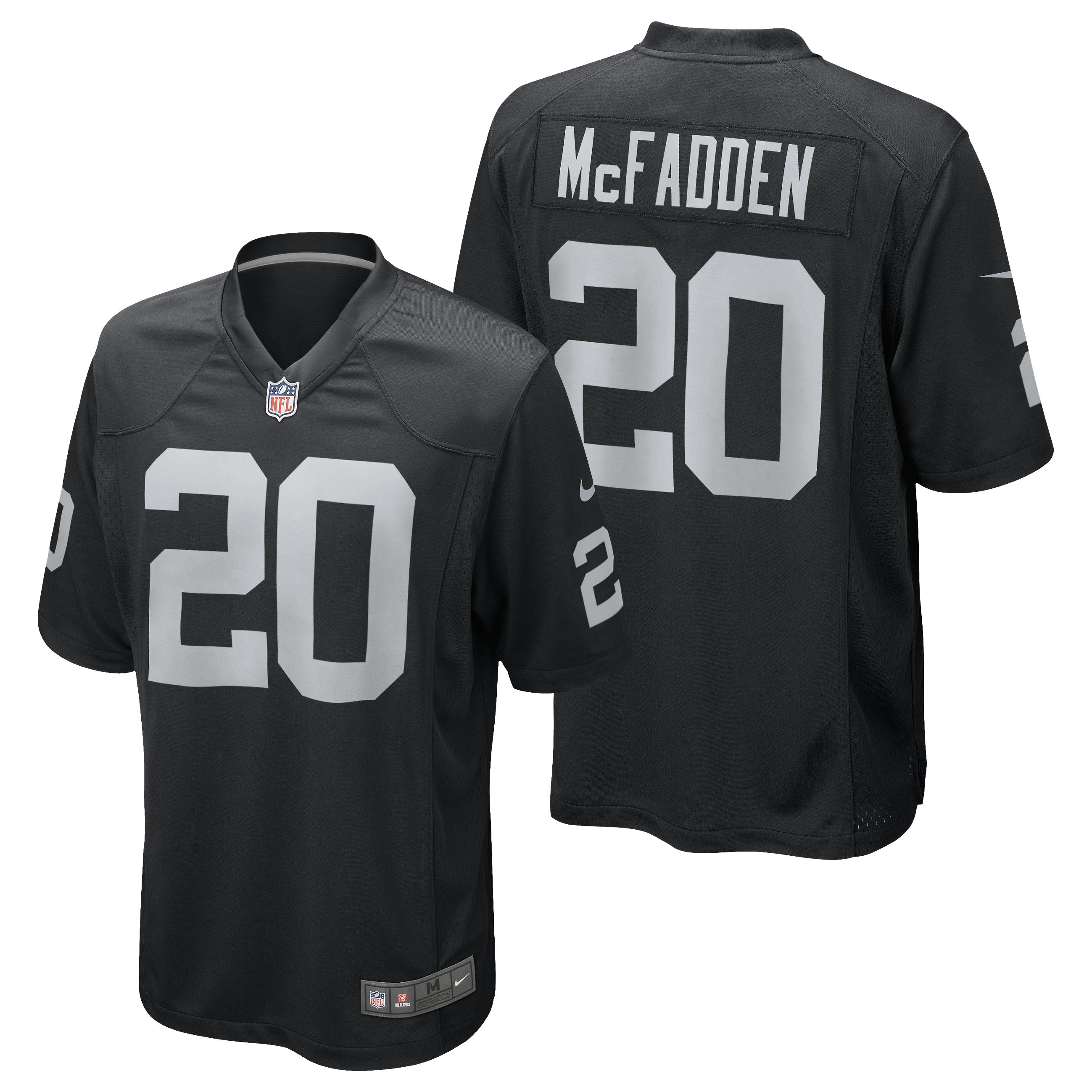 Oakland Raiders Home Game Jersey - Darren McFadden