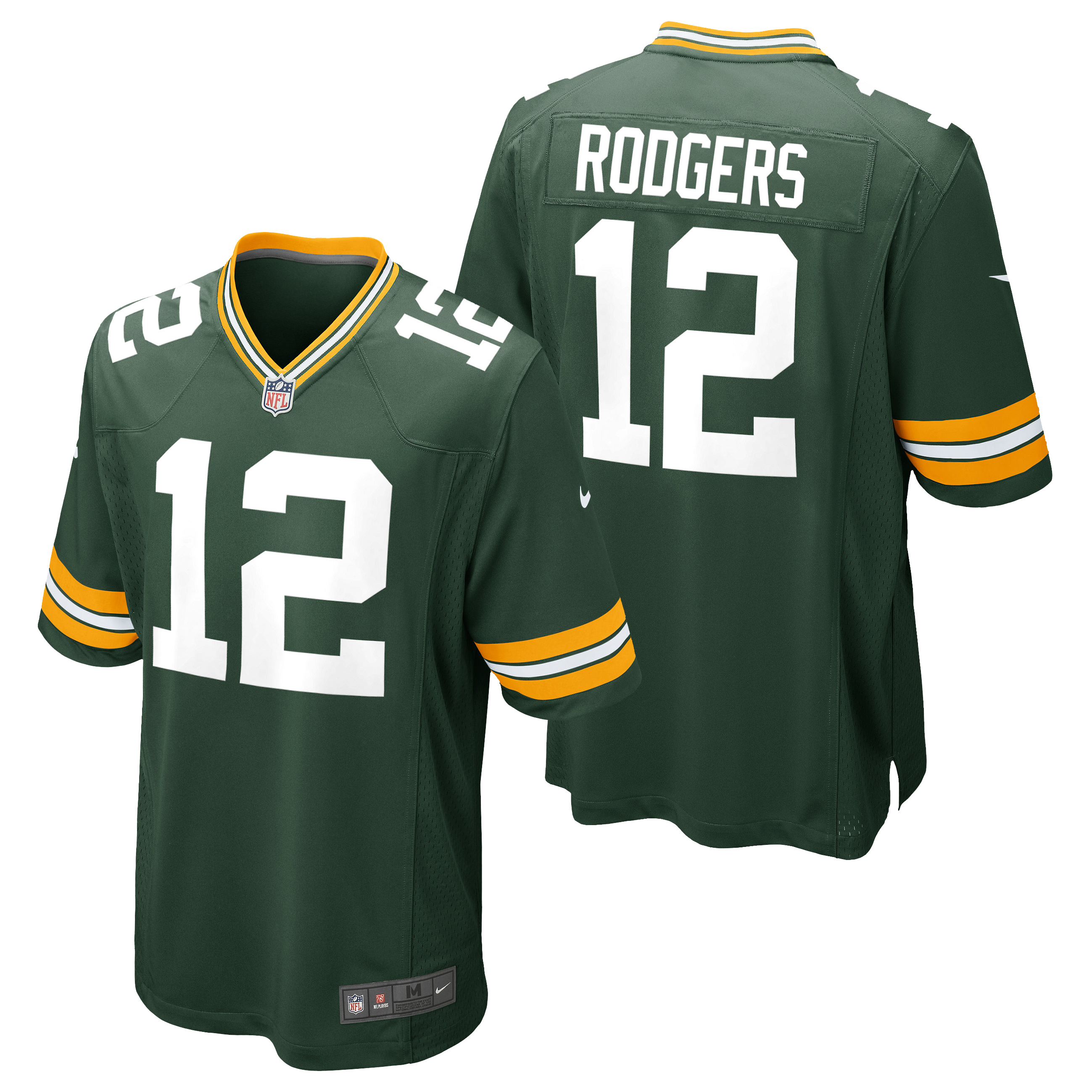 Green Bay Packers Home Game Jersey - Aaron Rodgers