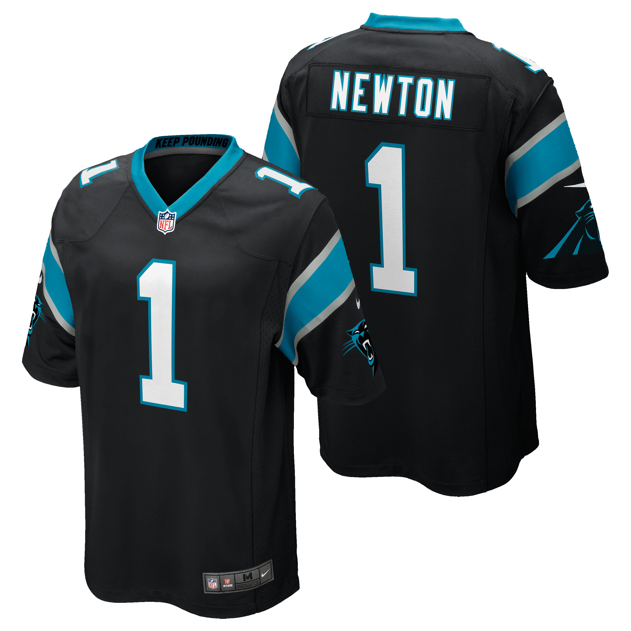 Carolina Panthers Home Game Jersey - Cam Newton