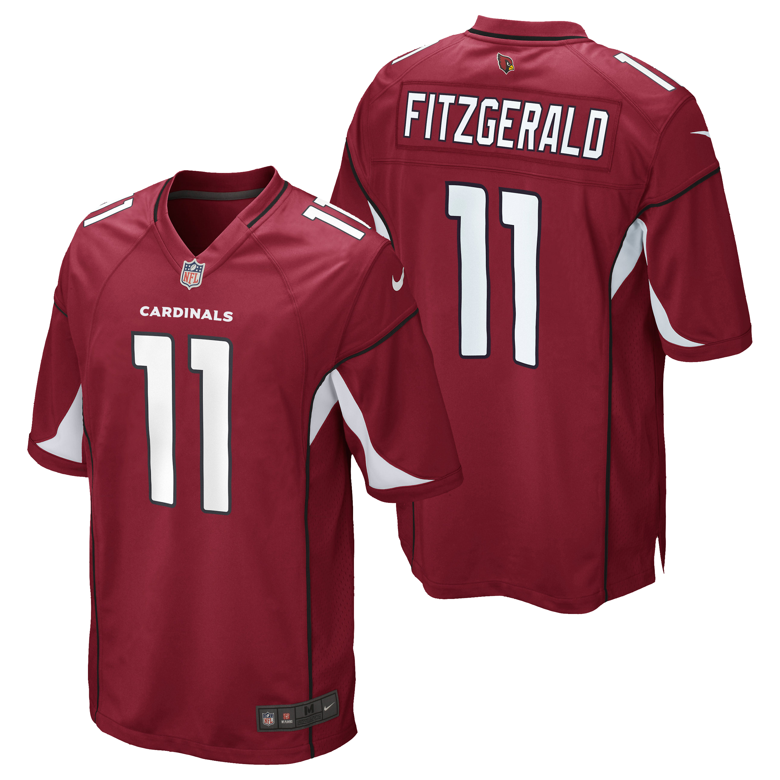 Arizona Cardinals Home Game Jersey - Larry Fitzgerald