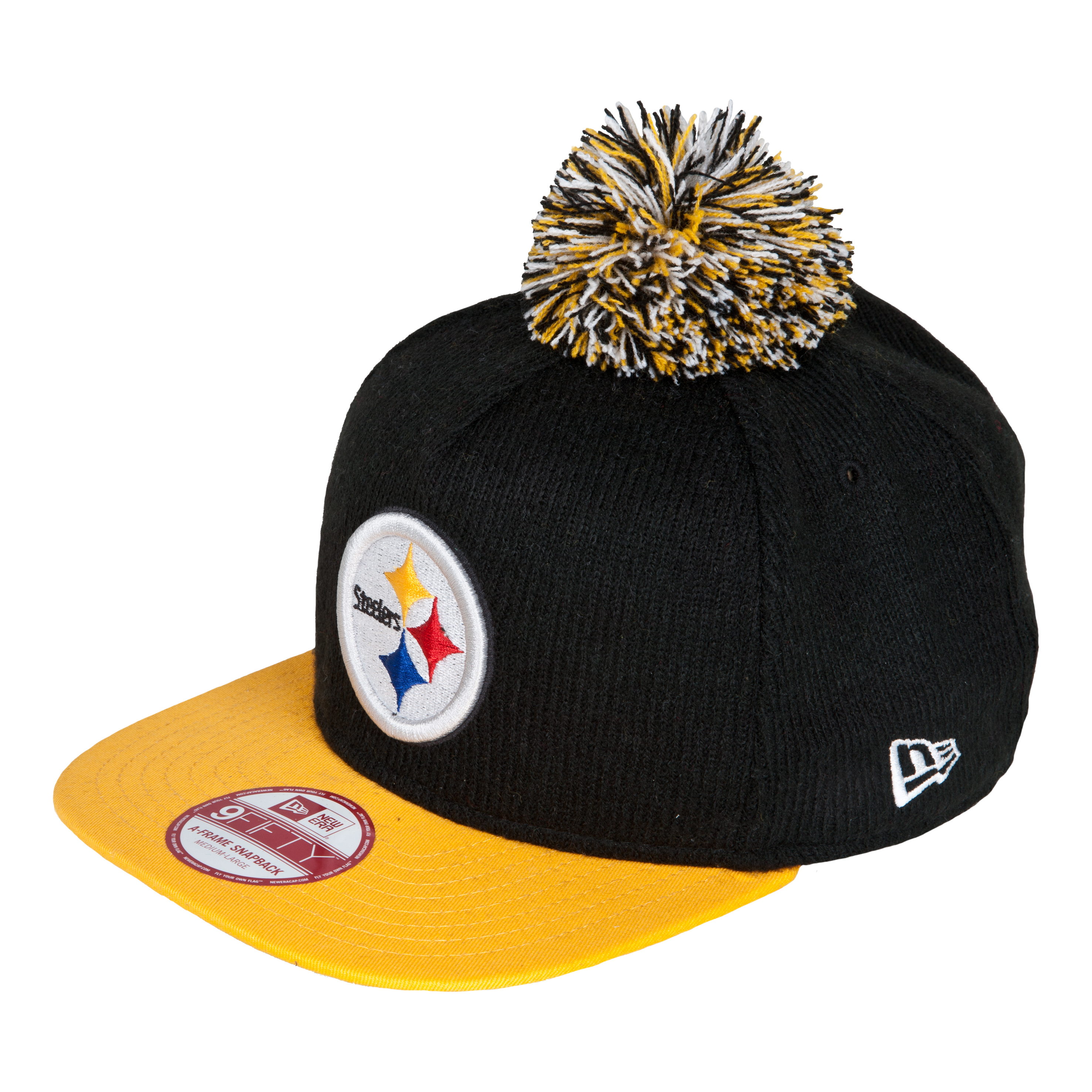 Pittsburgh Steelers 9Fifty Bobble Game Snapback Cap