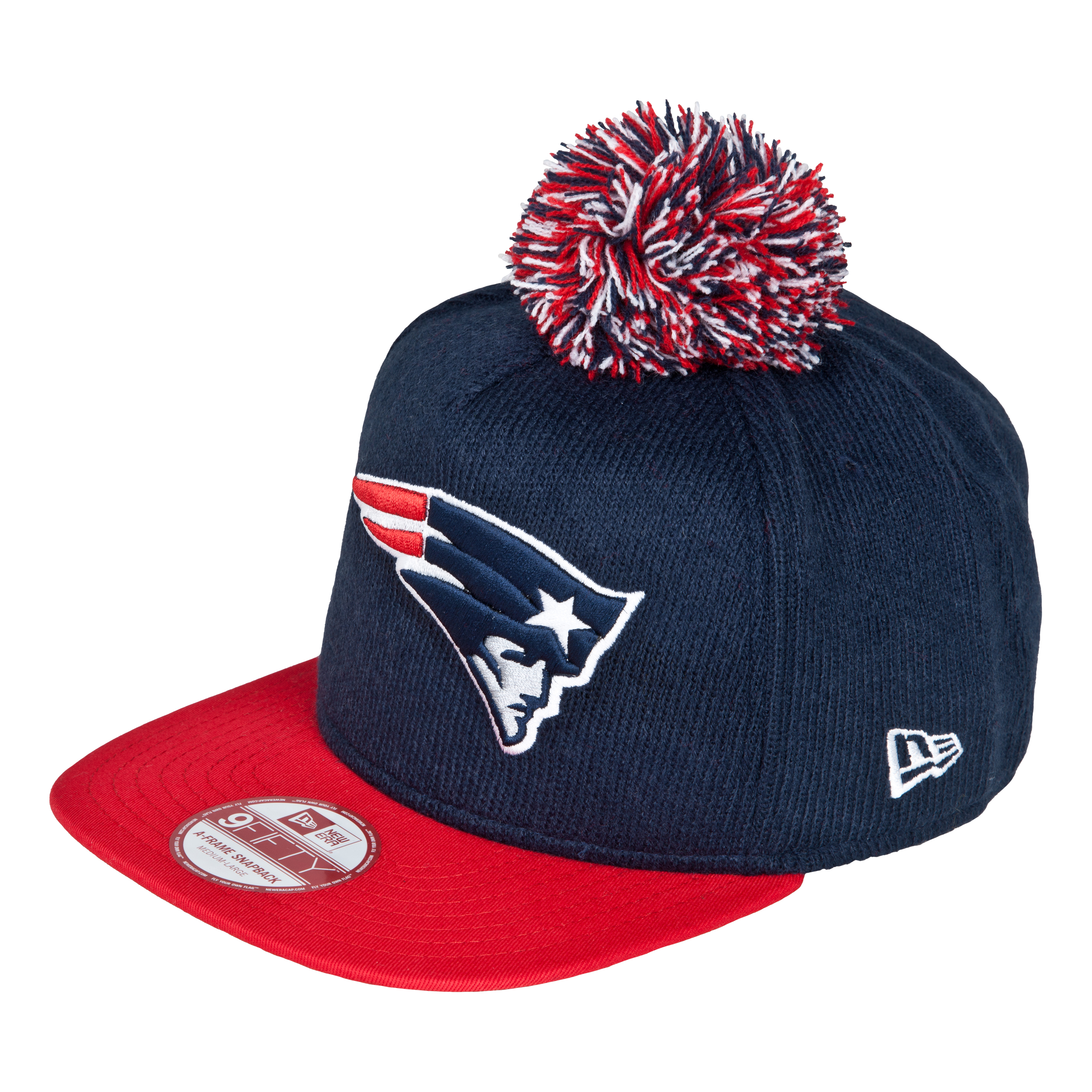 New England Patriots 9Fifty Bobble Game Snapback Cap