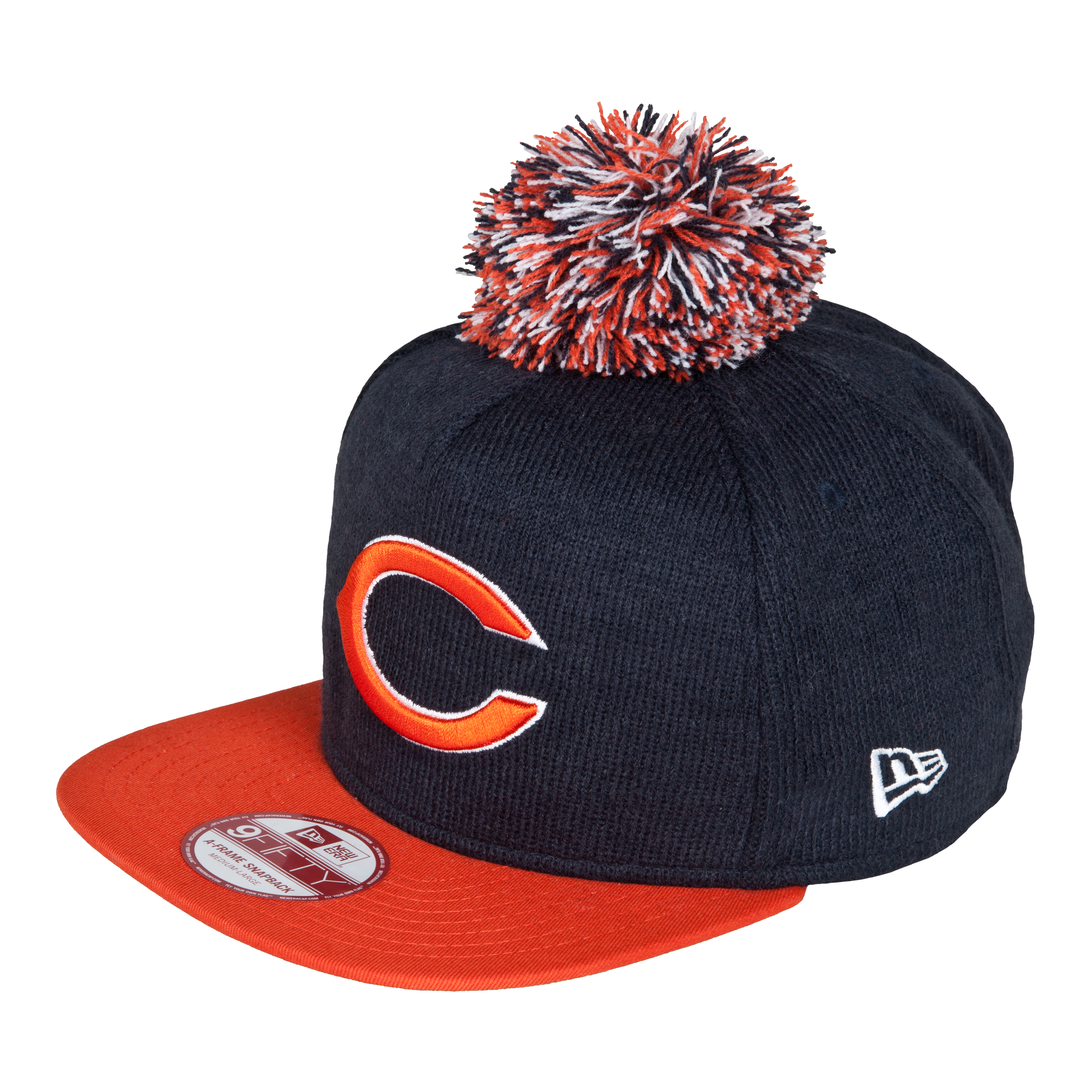 Chicago Bears 9Fifty Bobble Game Snapback Cap