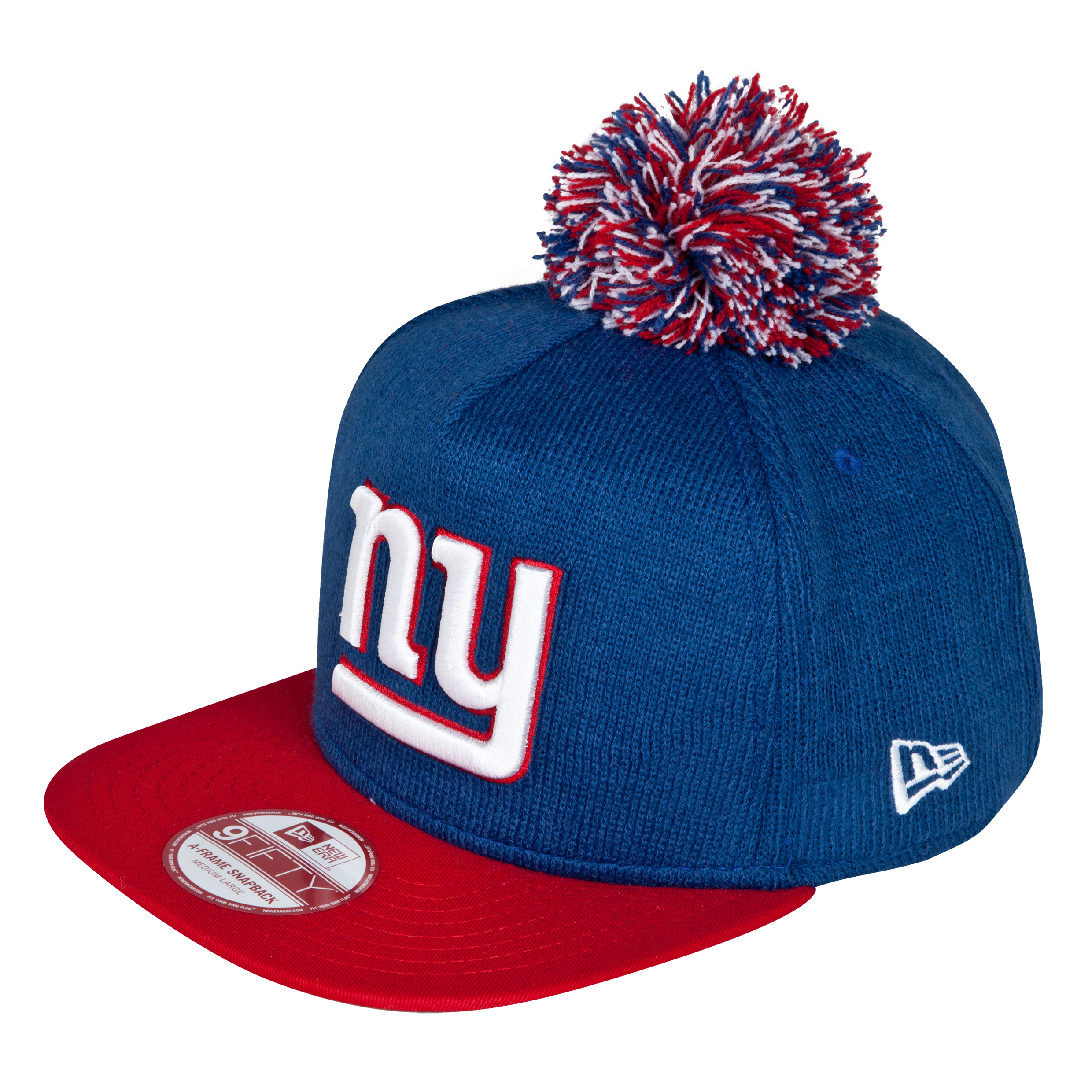 New York Giants 9Fifty Bobble Game Snapback Cap