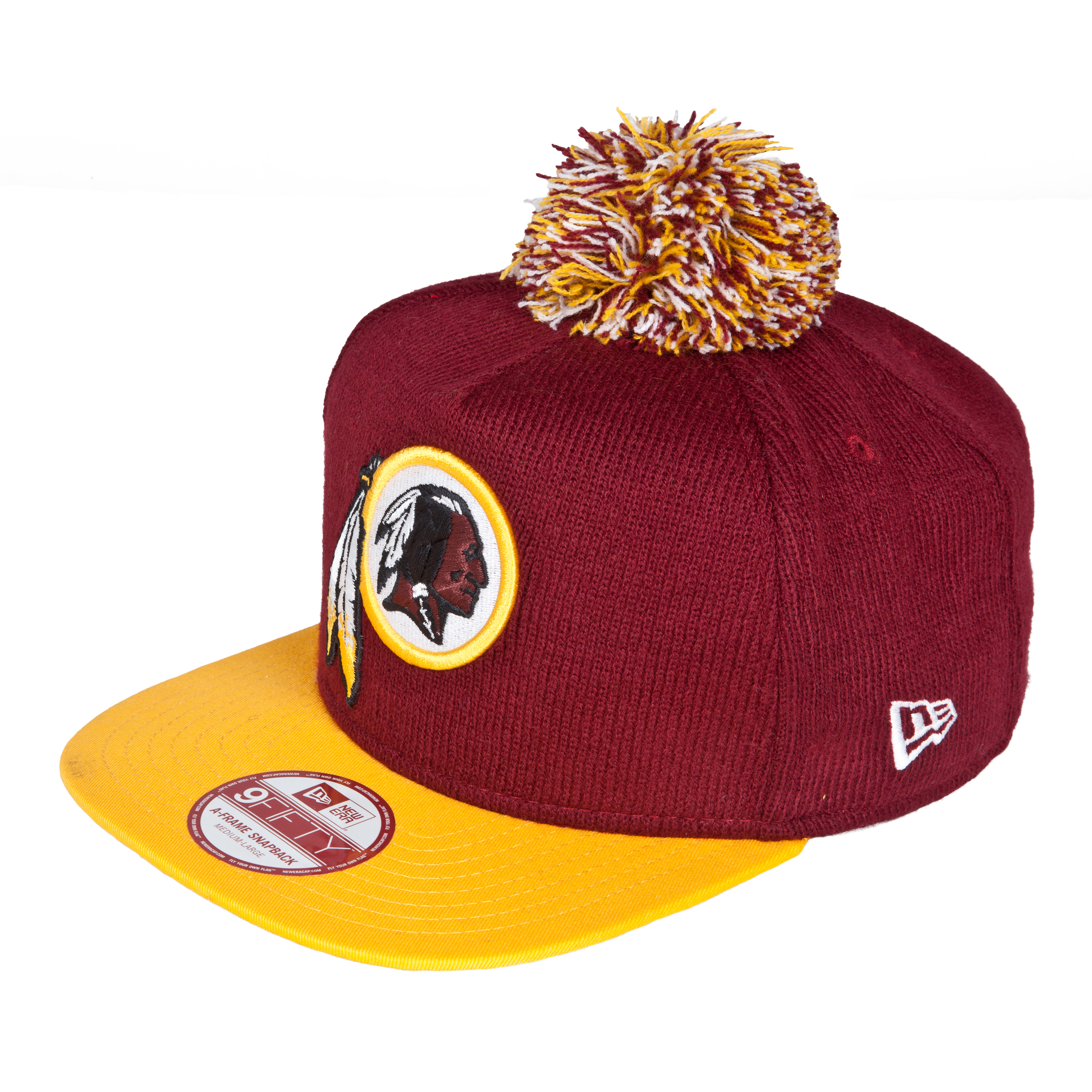 Washington Redskins 9Fifty Bobble Game Snapback Cap