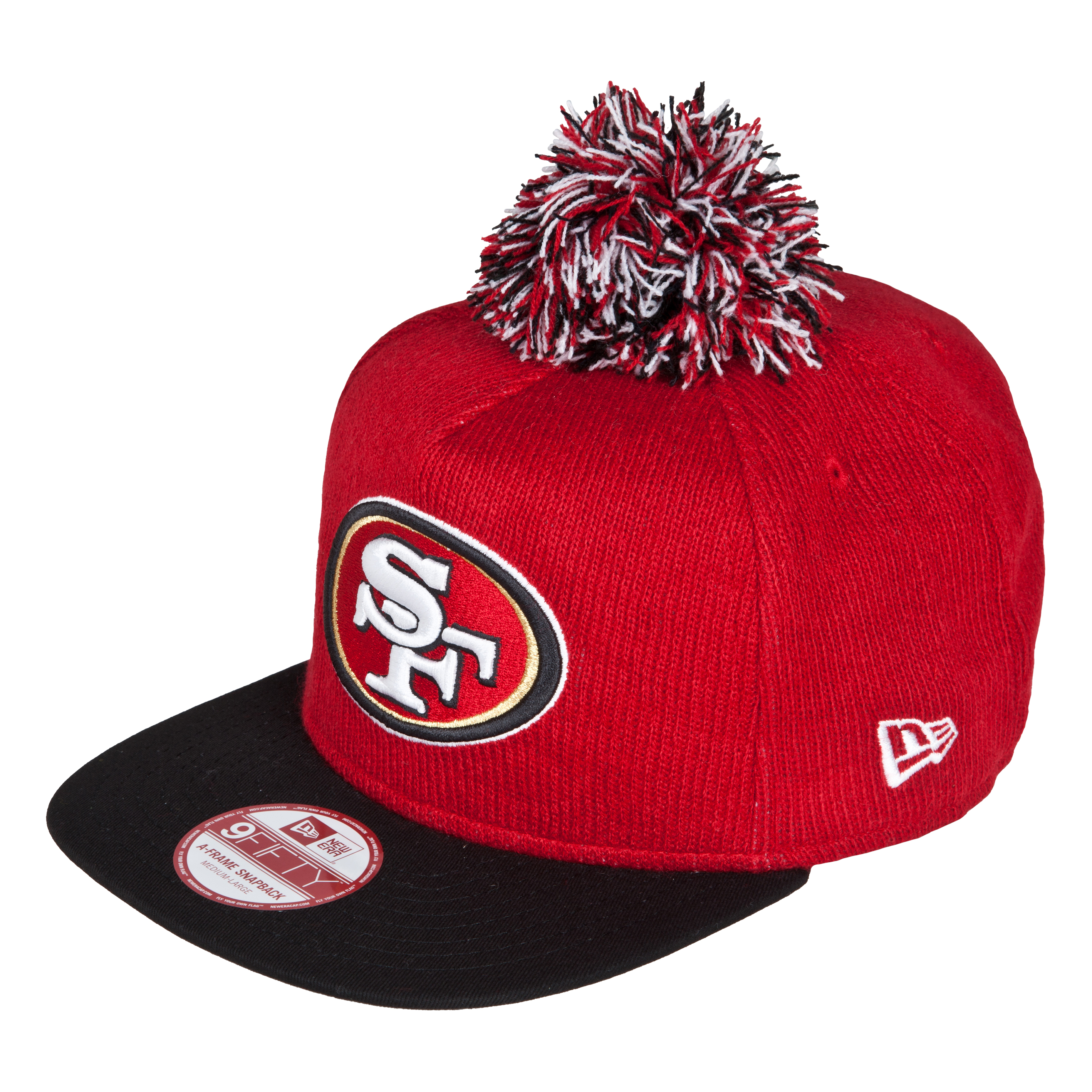 San Francisco 49ers 9Fifty Bobble Game Snapback Cap