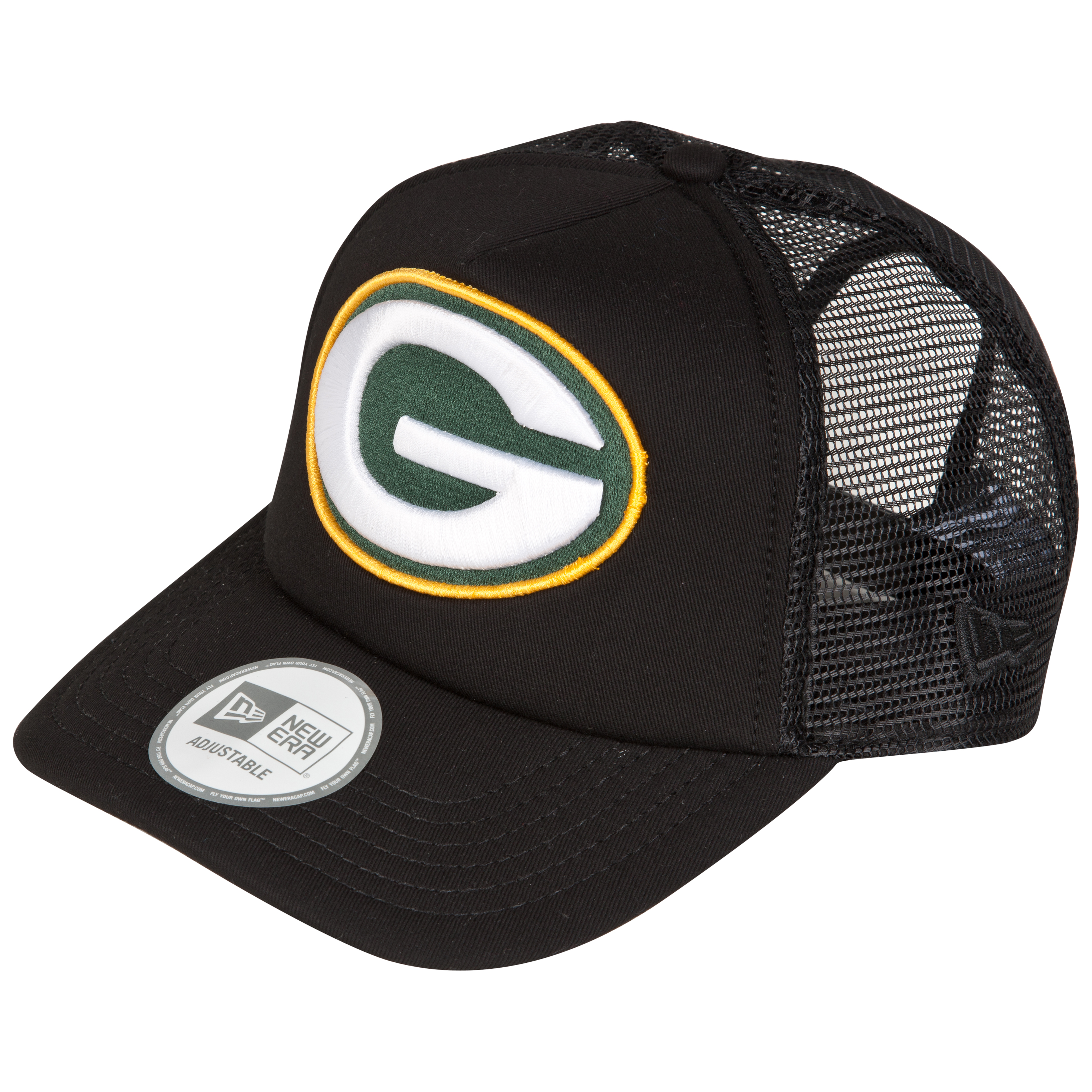 Green Bay Packers Adjustable Holiday Trucker Cap
