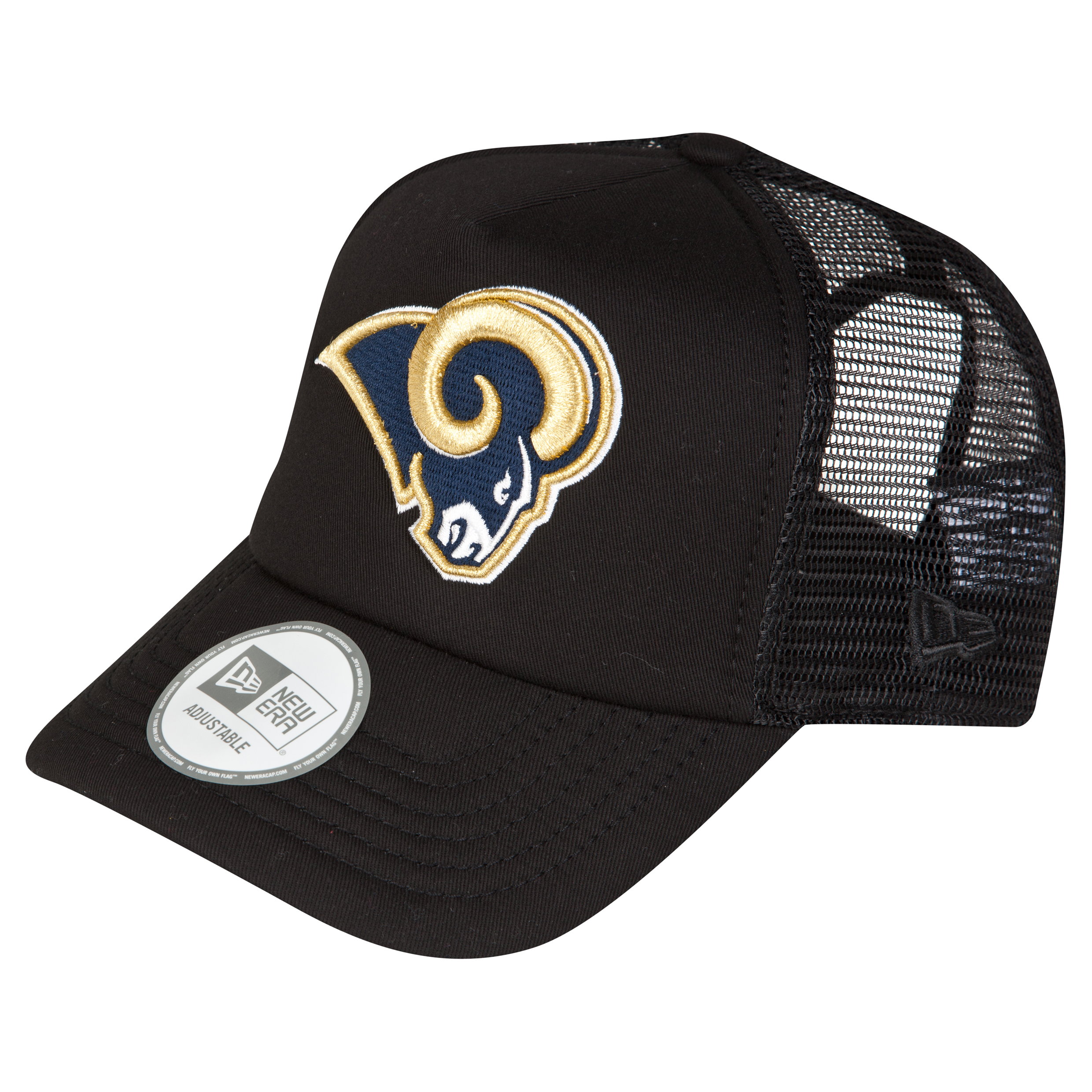 St Louis Rams Adjustable Holiday Trucker Cap