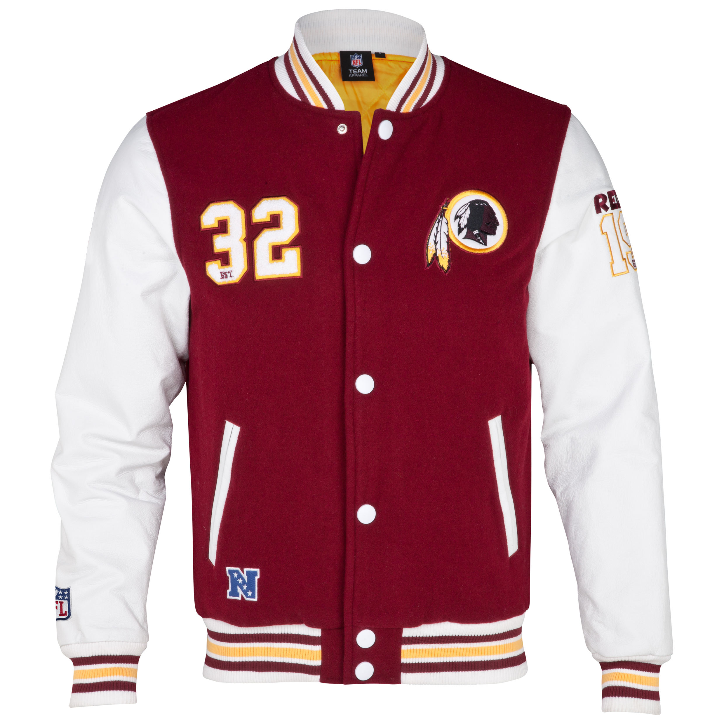 Washington Redskins Gridiron Letterman Jacket