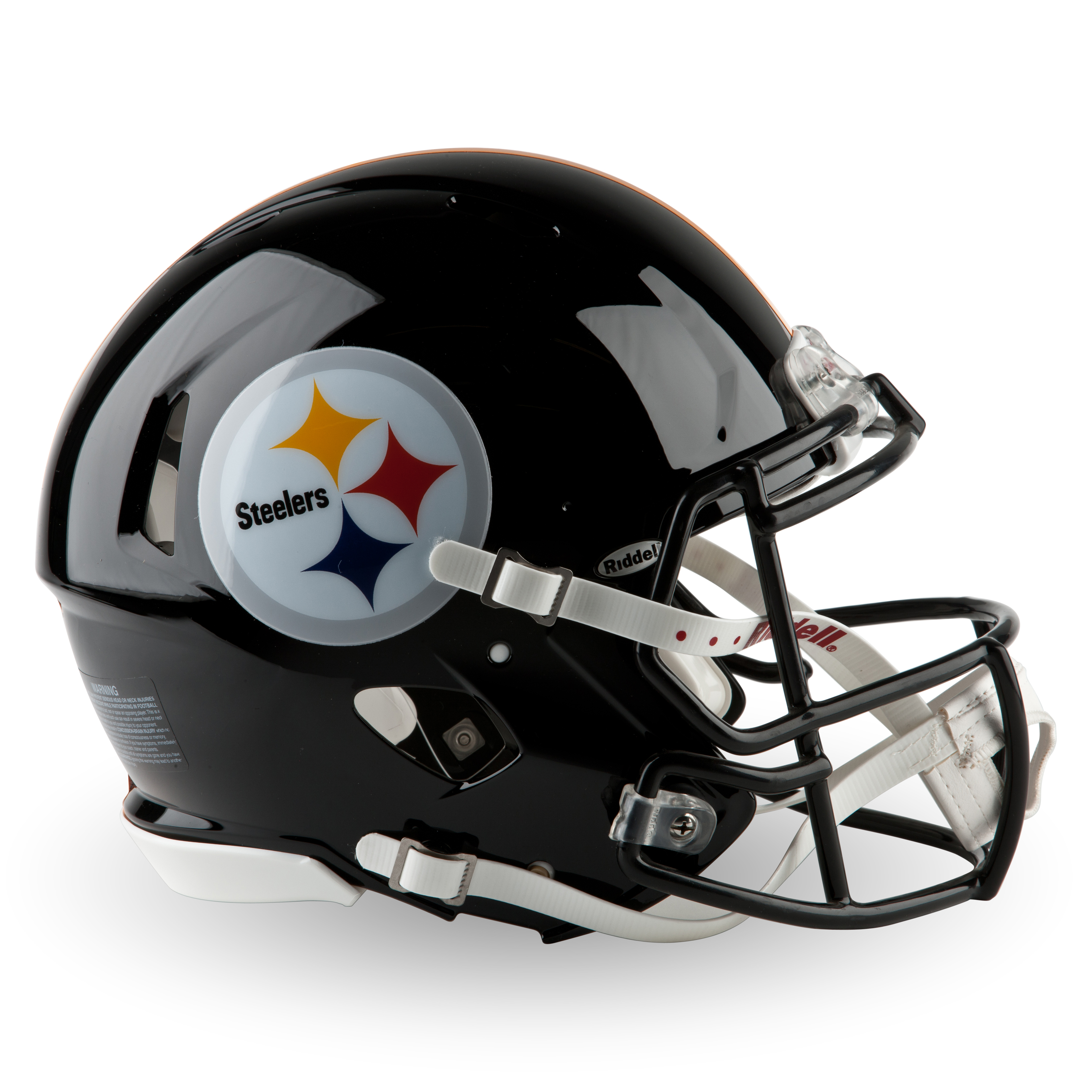 Pittsburgh Steelers Full Size Authentic Speed Helmet