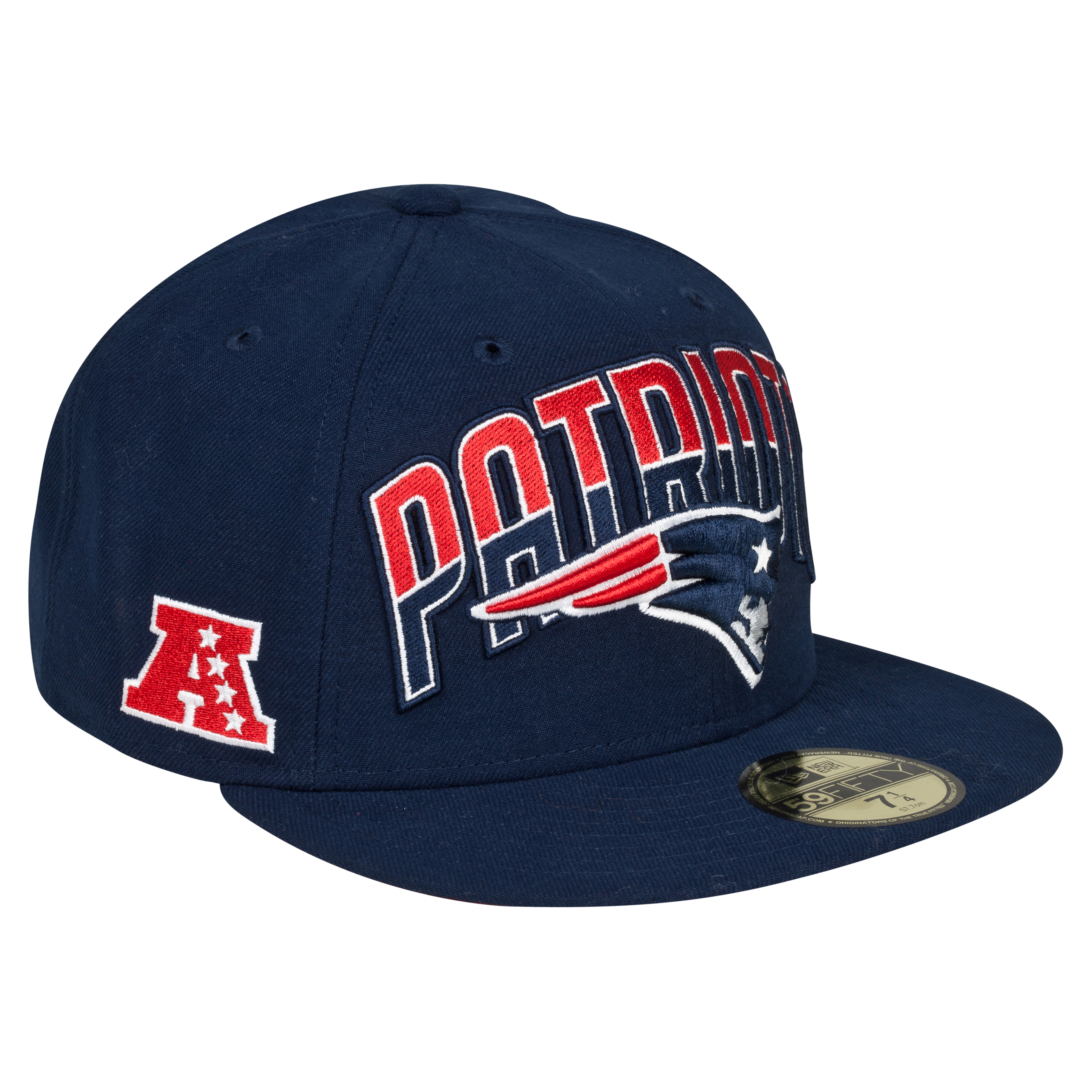 New England Patriots NFL Draft 59FIFTY Cap