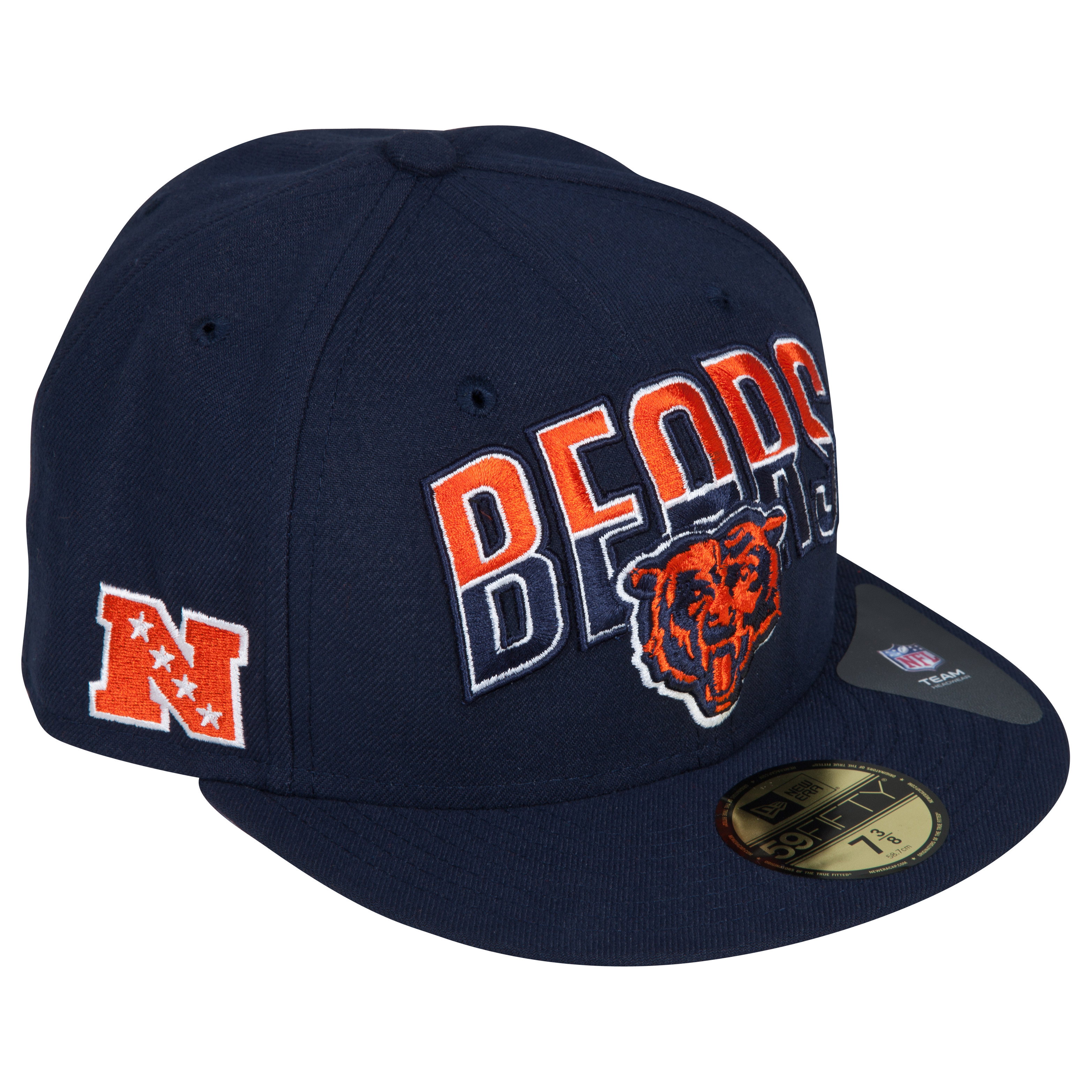 Chicago Bears NFL Draft 59FIFTY Cap