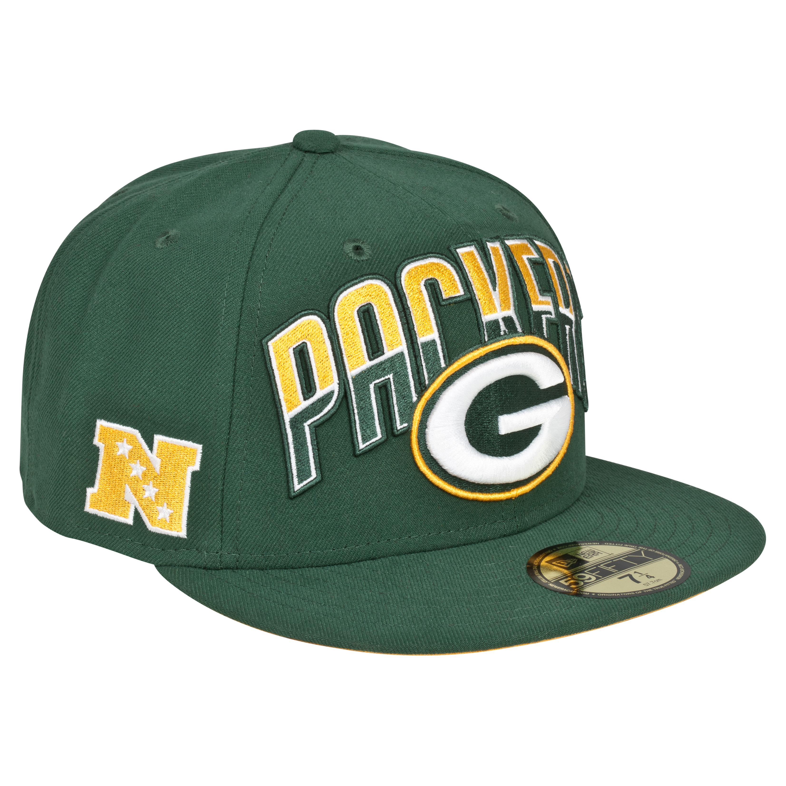 Green Bay Packers NFL Draft 59FIFTY Cap