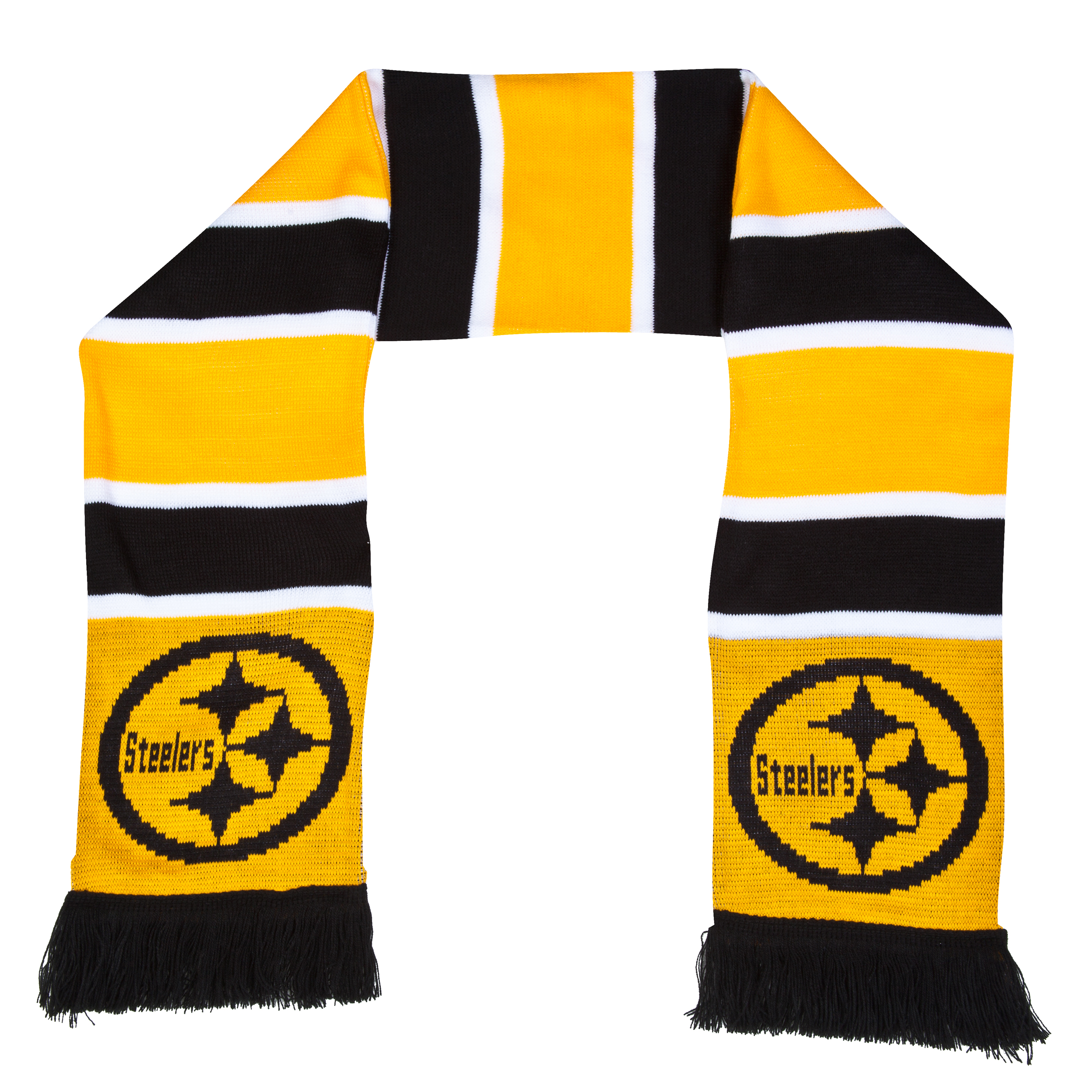 Pittsburgh Steelers Stripe Scarf