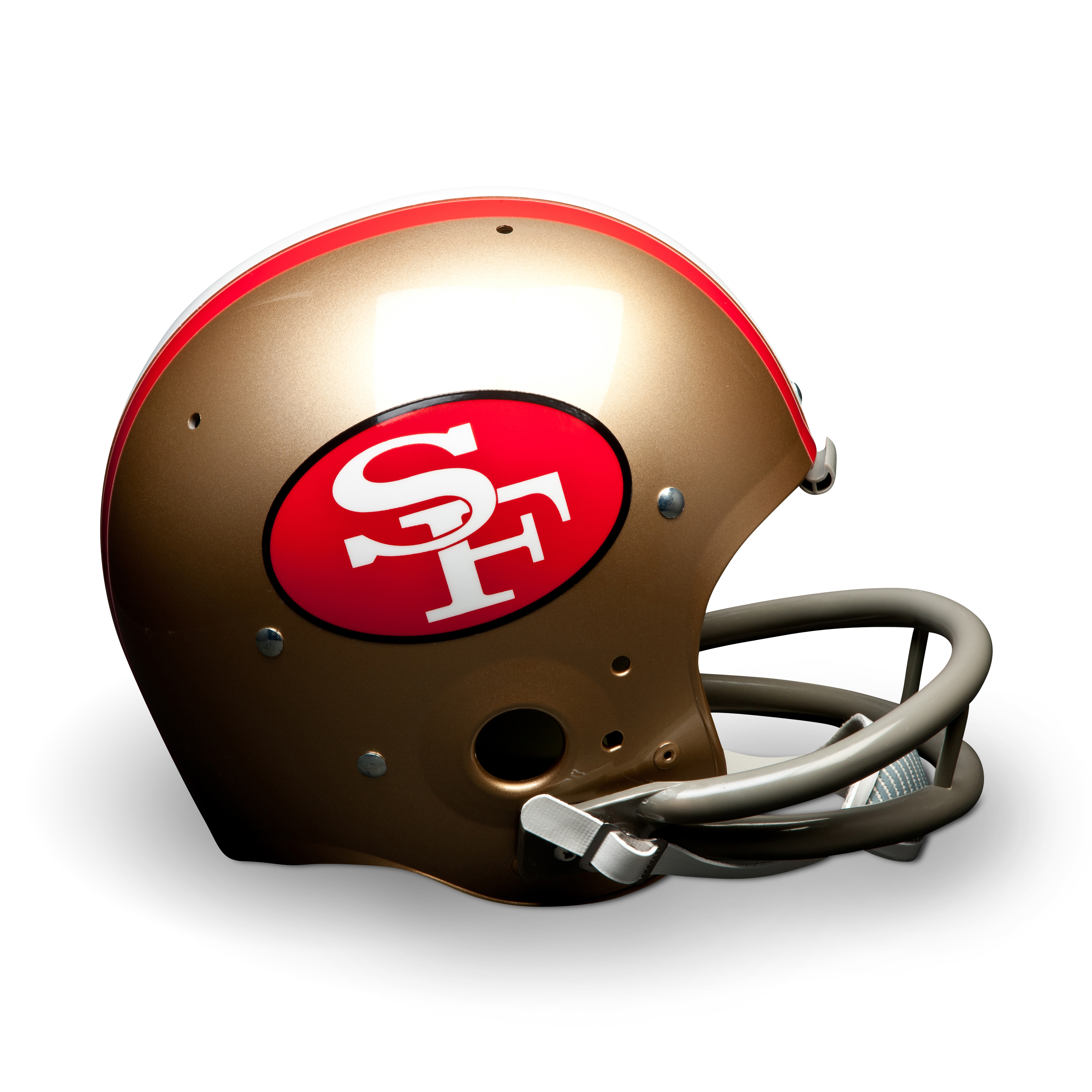 San Francisco 49ers 1964-88 Throwback Suspension Helmet