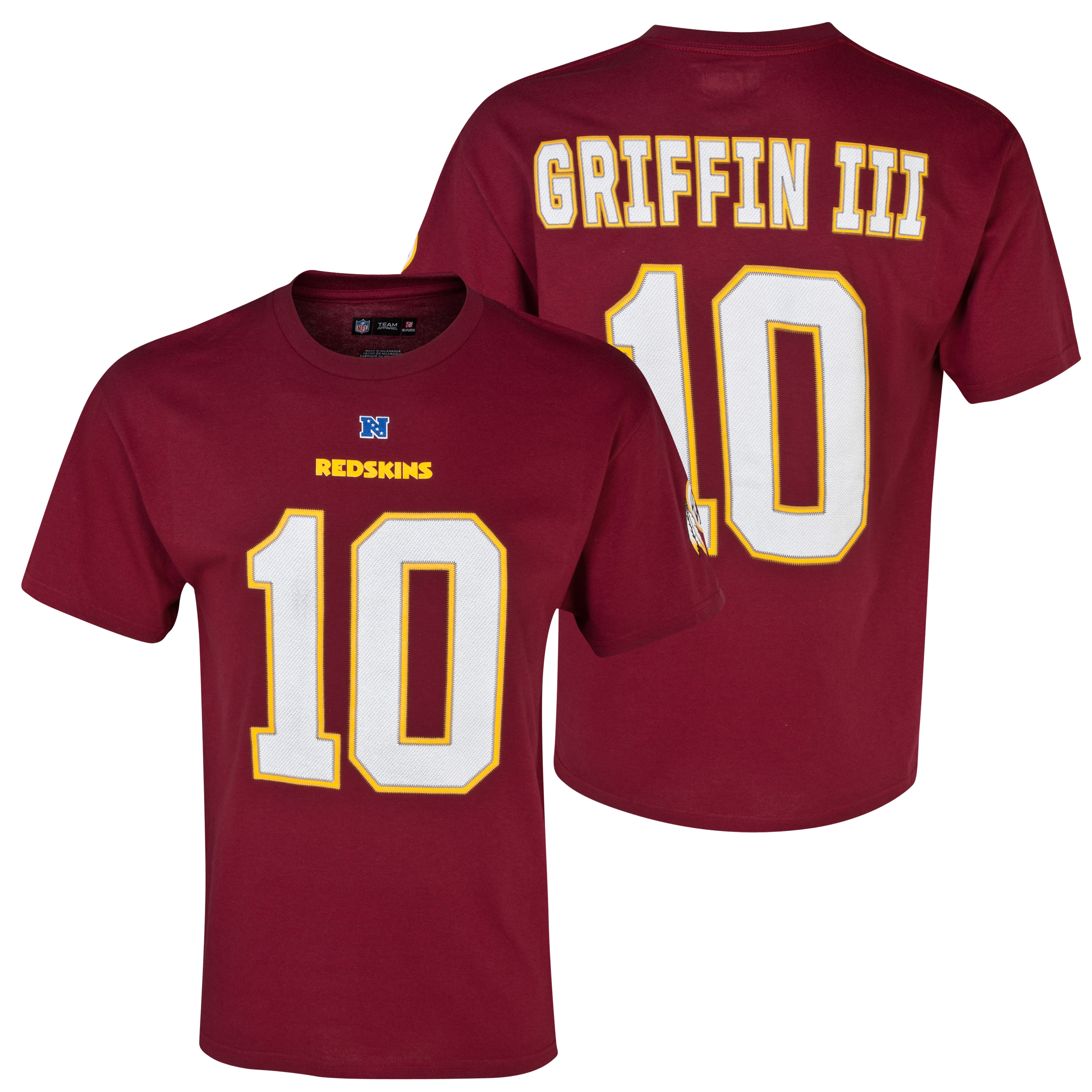 Washington Redskins The Eligible Receiver Griffin III T-Shirt