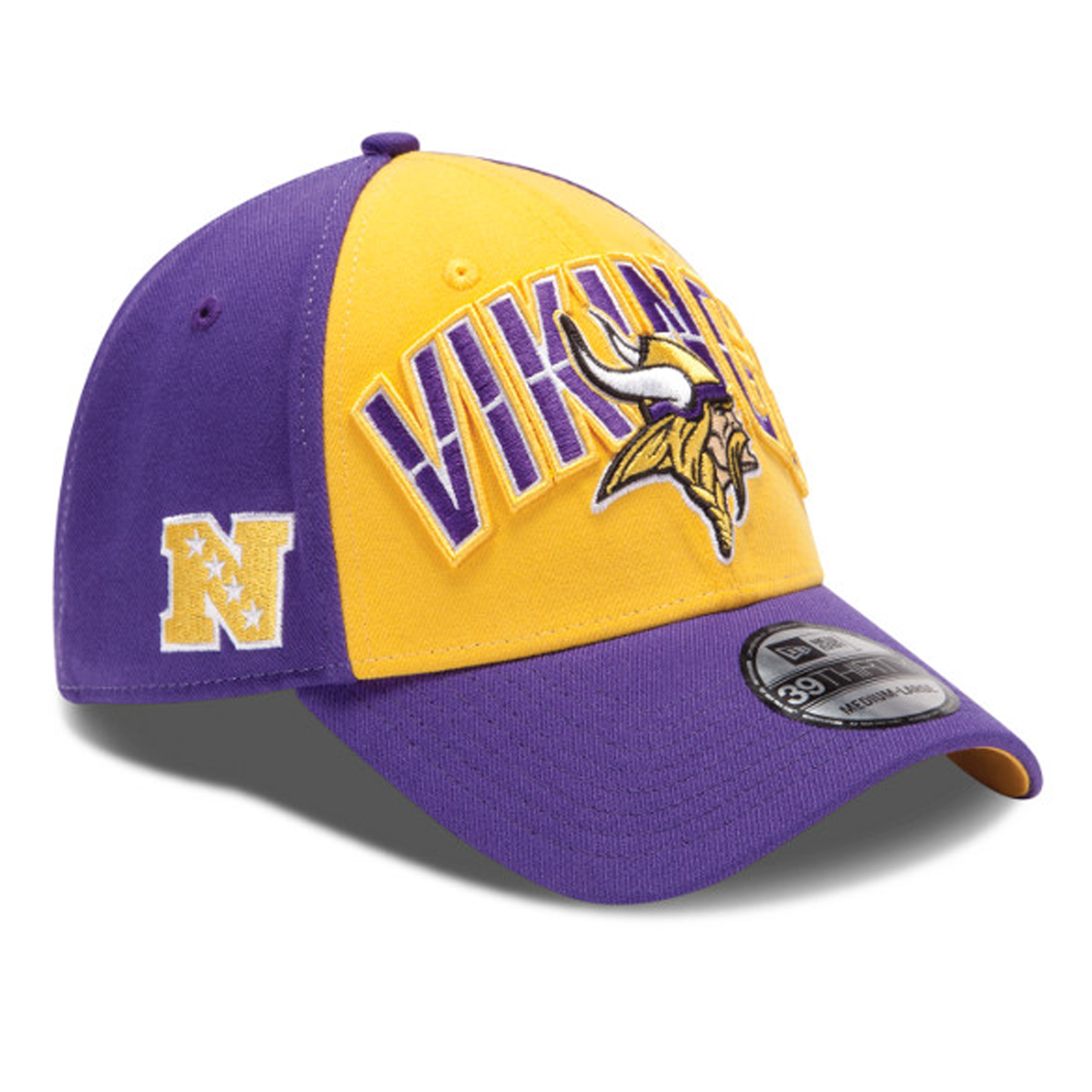 Minnesota Vikings New Era 39THIRTY NFL Draft Cap