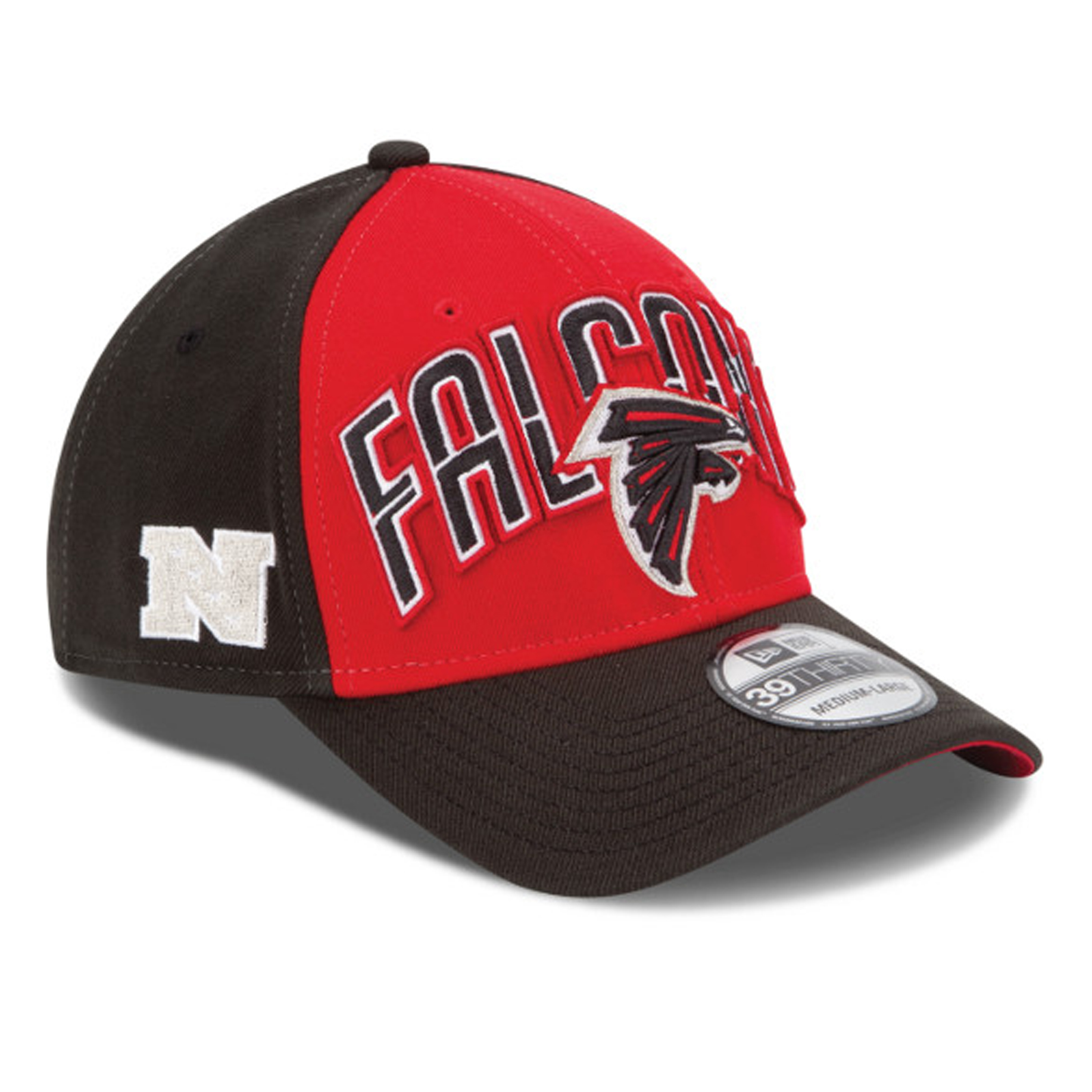 Atlanta Falcons New Era 39THIRTY NFL Draft Cap