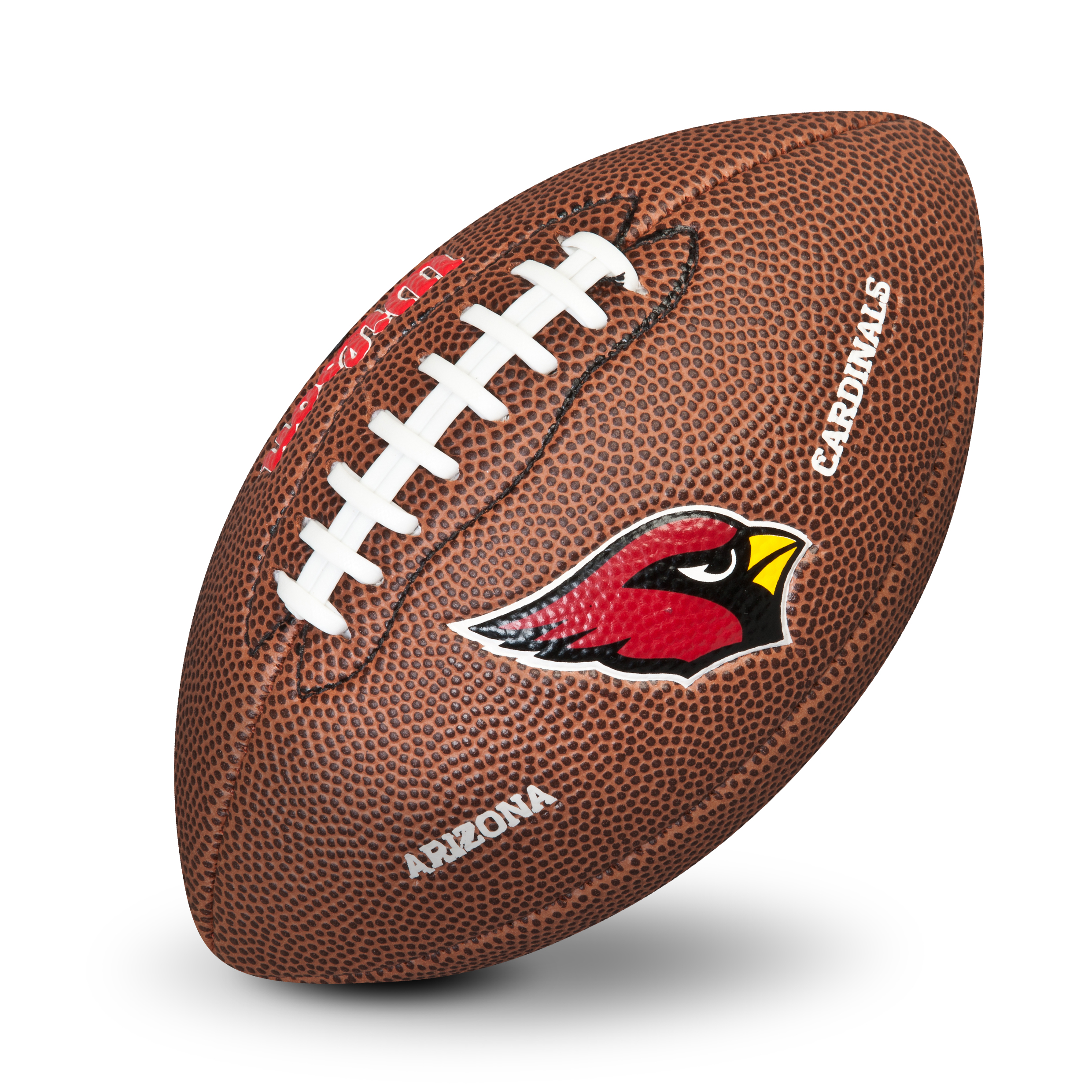 Arizona Cardinals NFL Team Logo Mini Size Rubber Football