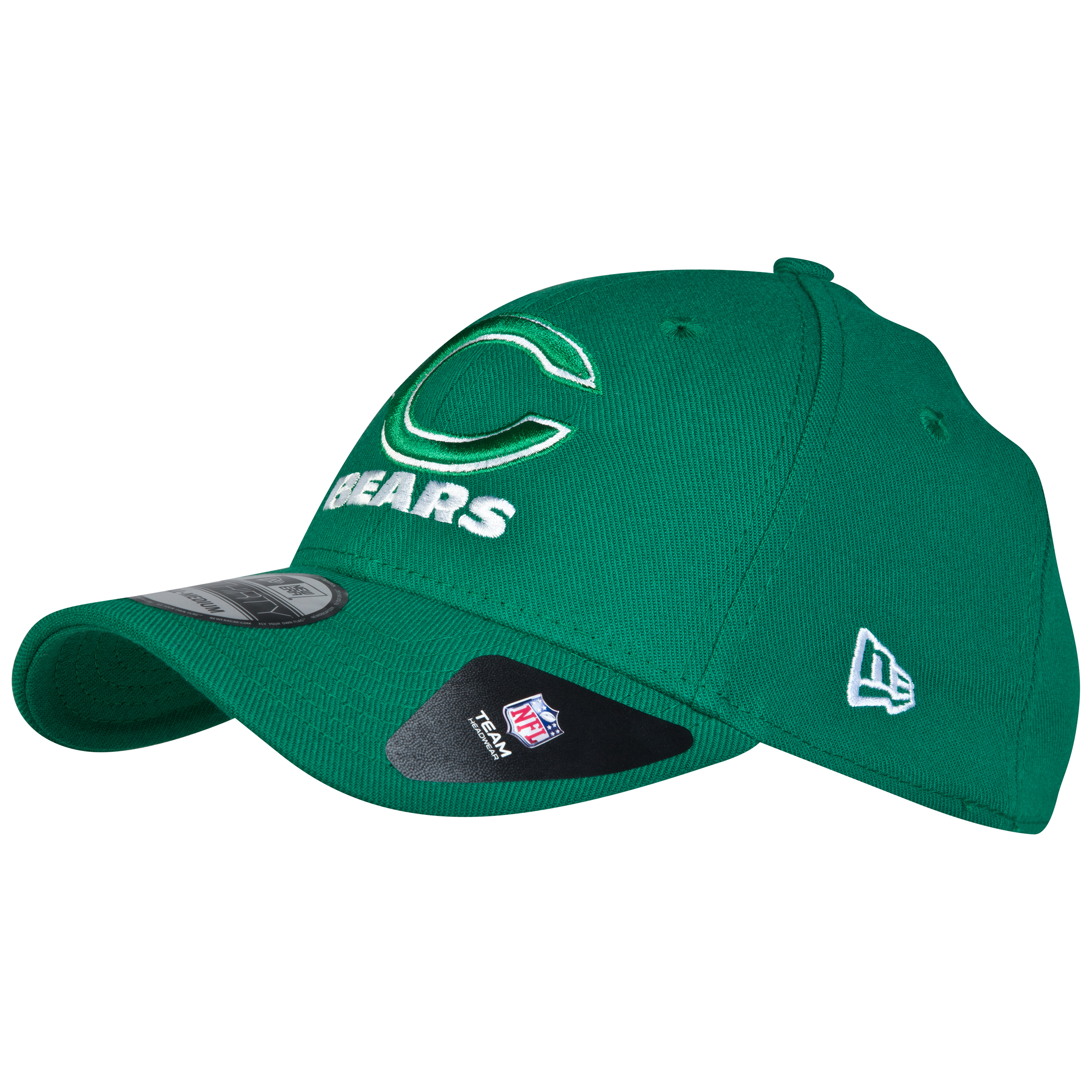 Chicago Bears New Era 39THIRTY Grafpop Classic St Pattys Stretch Fit Cap