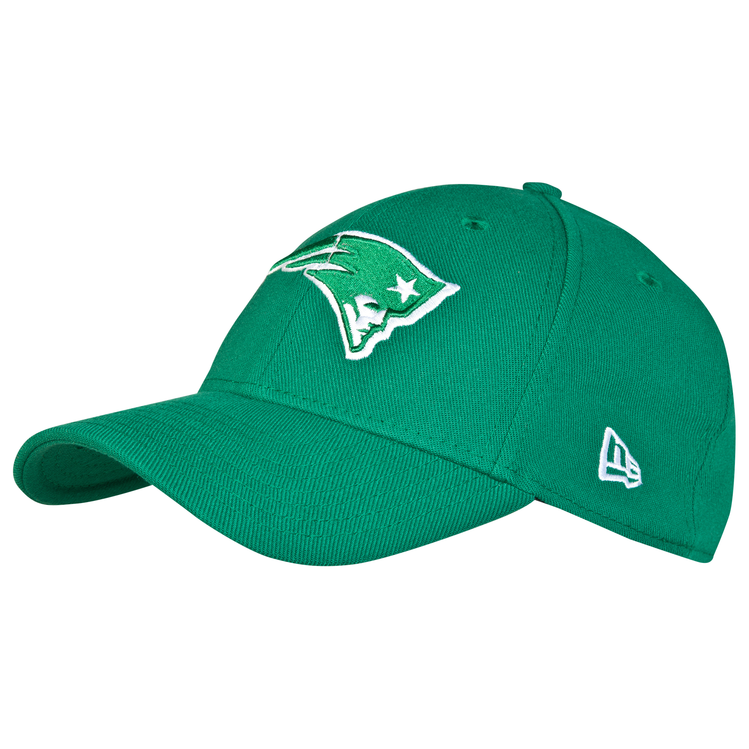 New England Patriots New Era 39THIRTY Grafpop Classic St Pattys Stretch Fit Cap