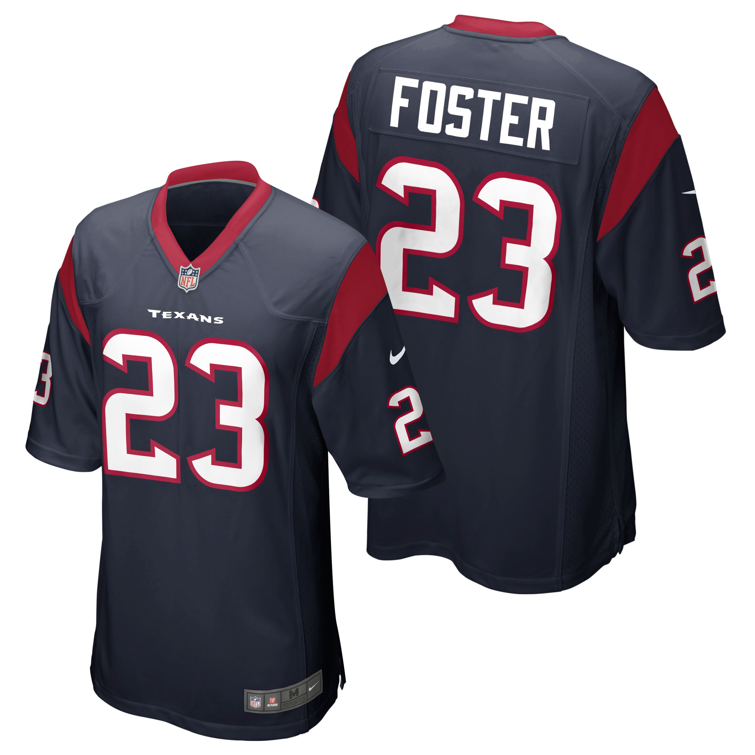 Houston Texans Home Game Jersey - Arian Foster