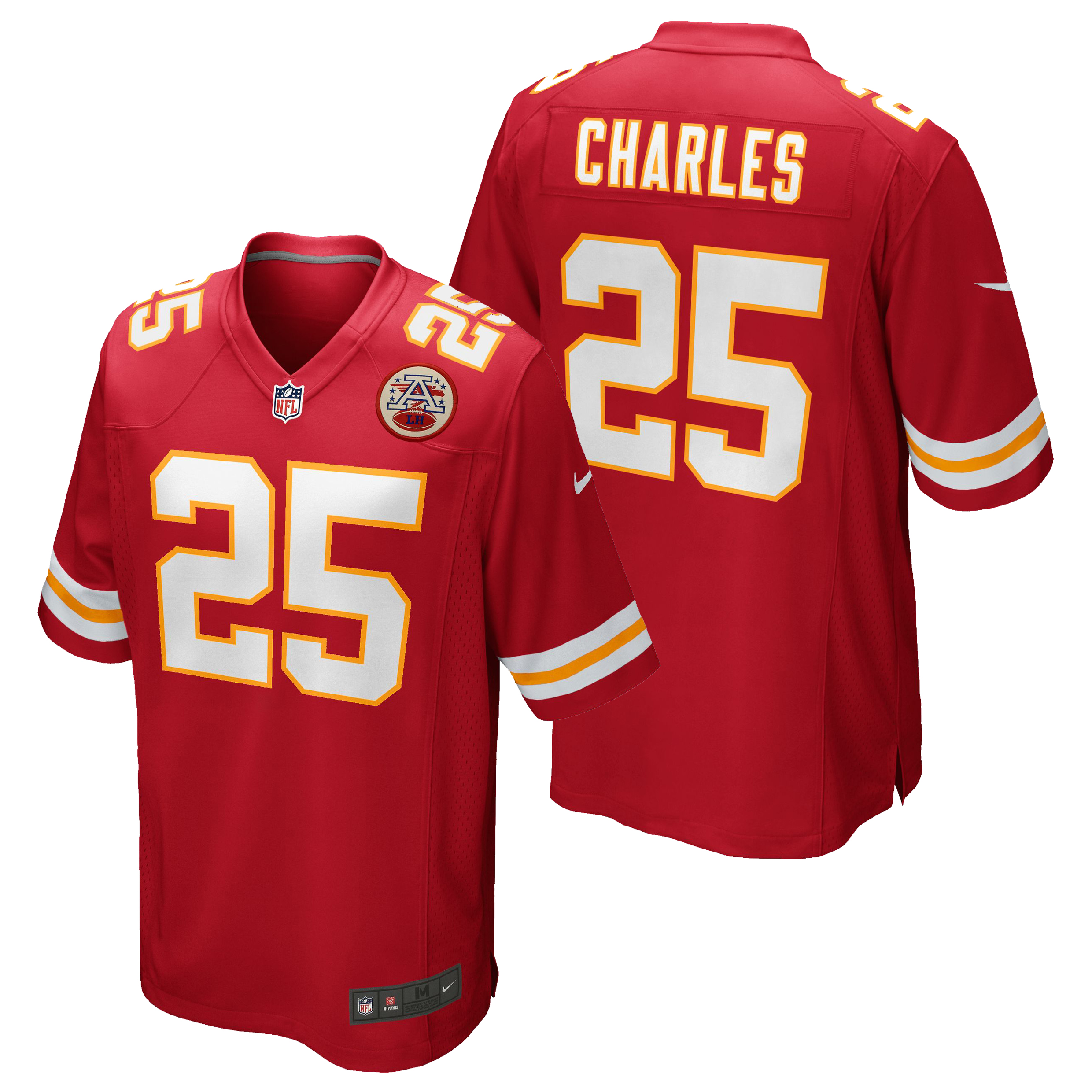 Kansas City Chiefs Home Game Jersey - Jamaal Charles