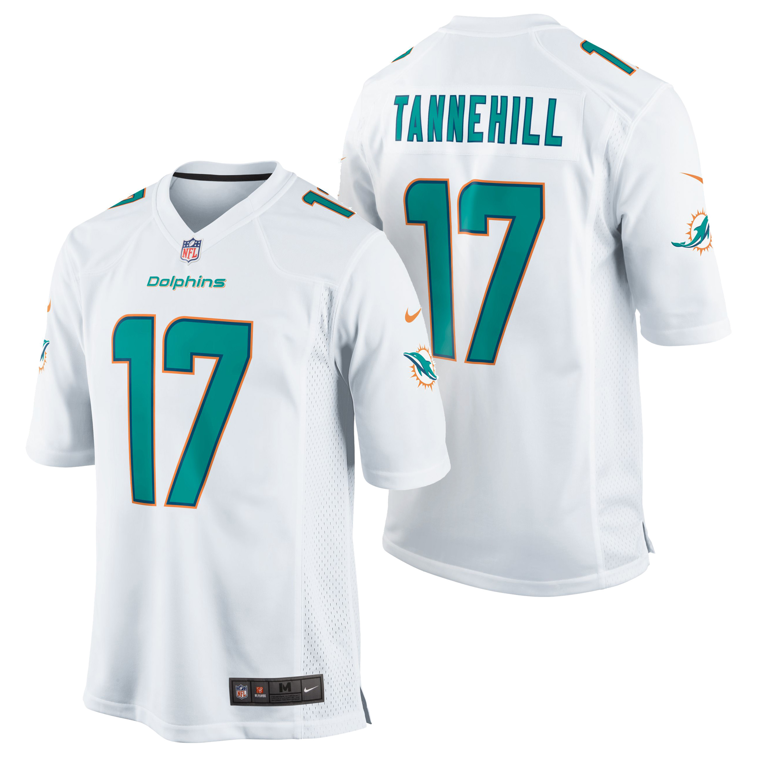 Miami Dolphins Road Game Jersey - Ryan Tannehill