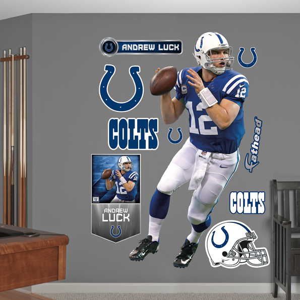Indianapolis Colts Andrew Luck - Home Wall Graphic