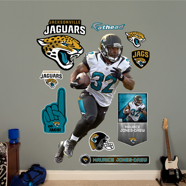 Jacksonville Jaguars Maurice Jones-Drew Wall Graphic
