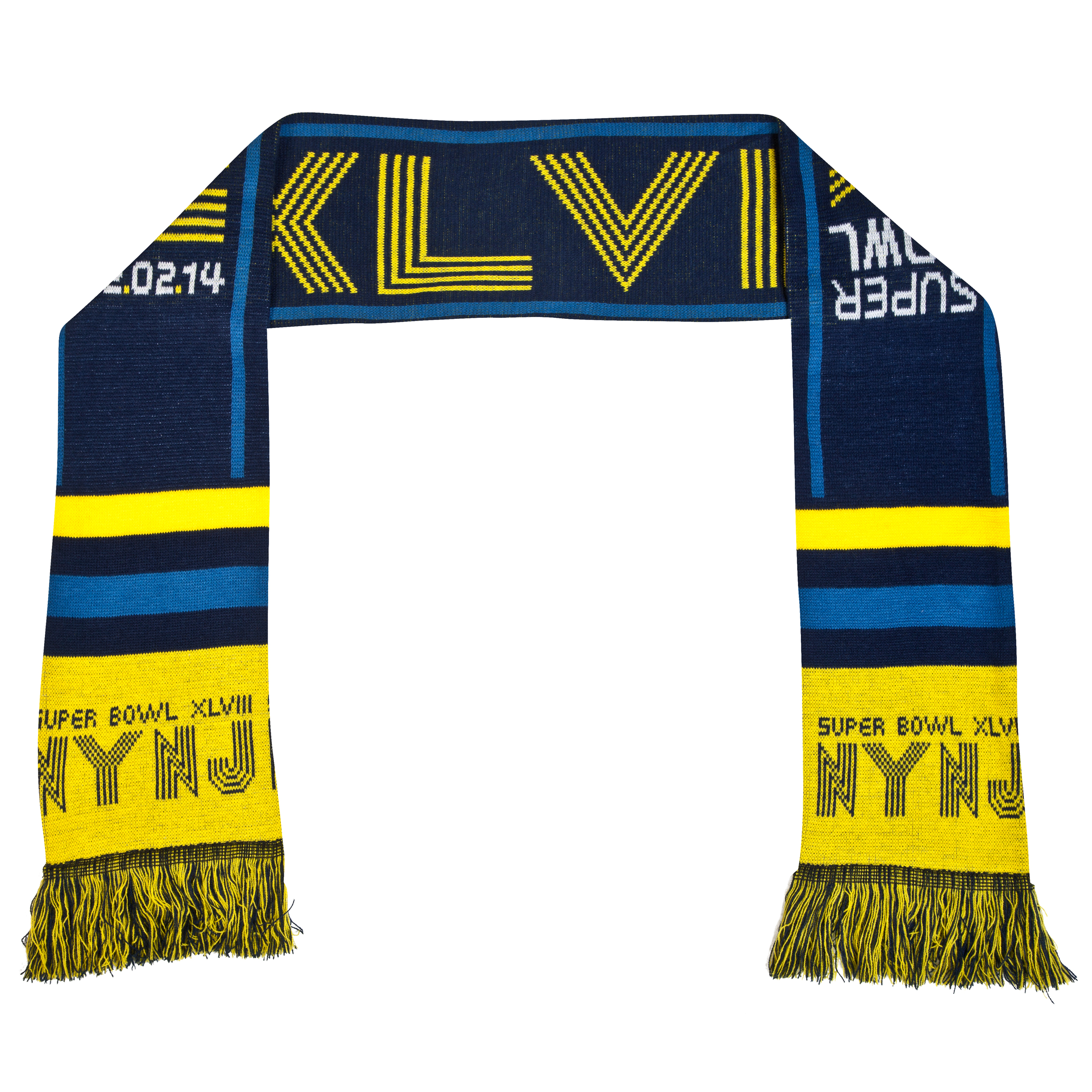 NFL Super Bowl XLVIII Wordmark Scarf