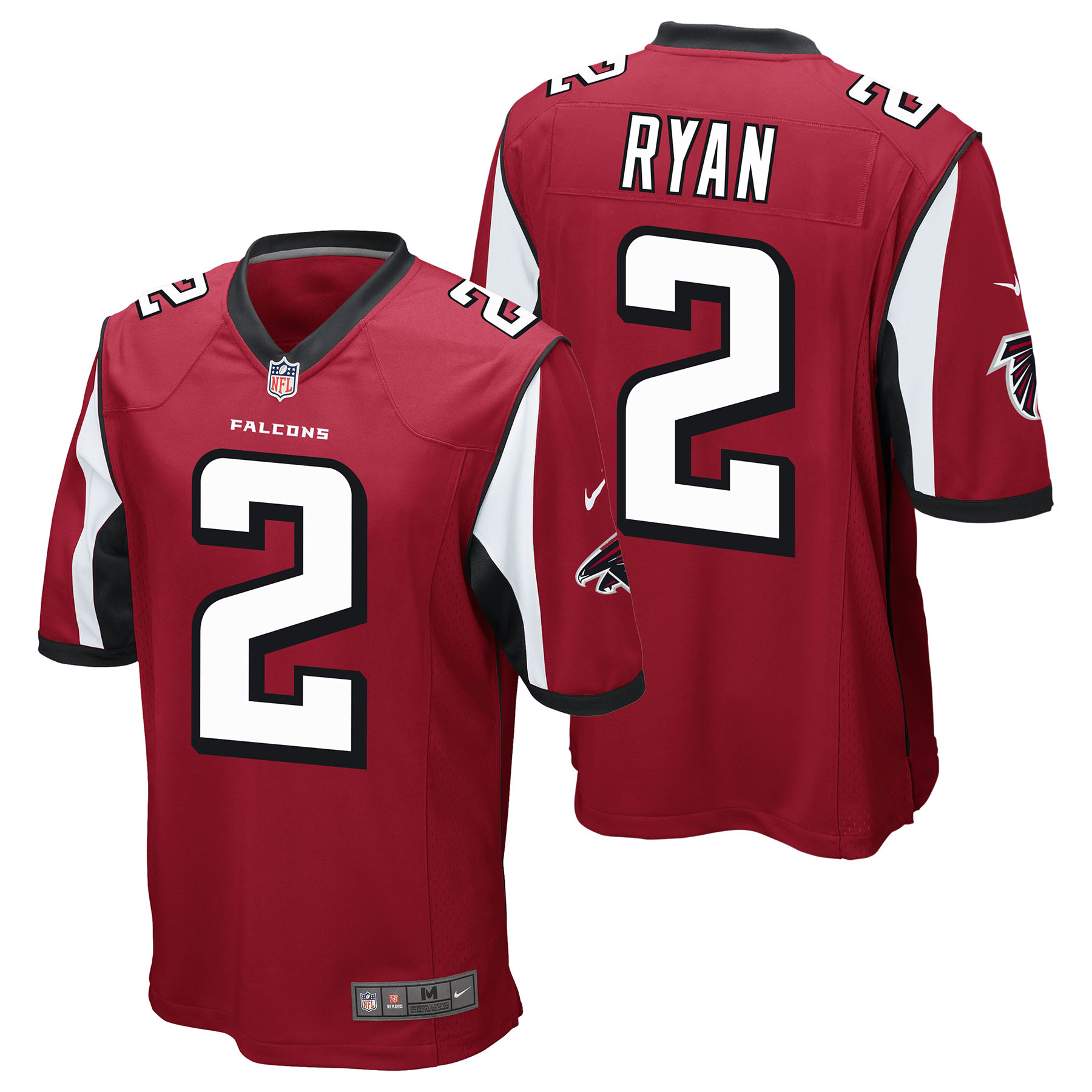 Atlanta Falcons Home Game Jersey - Matt Ryan - Junior