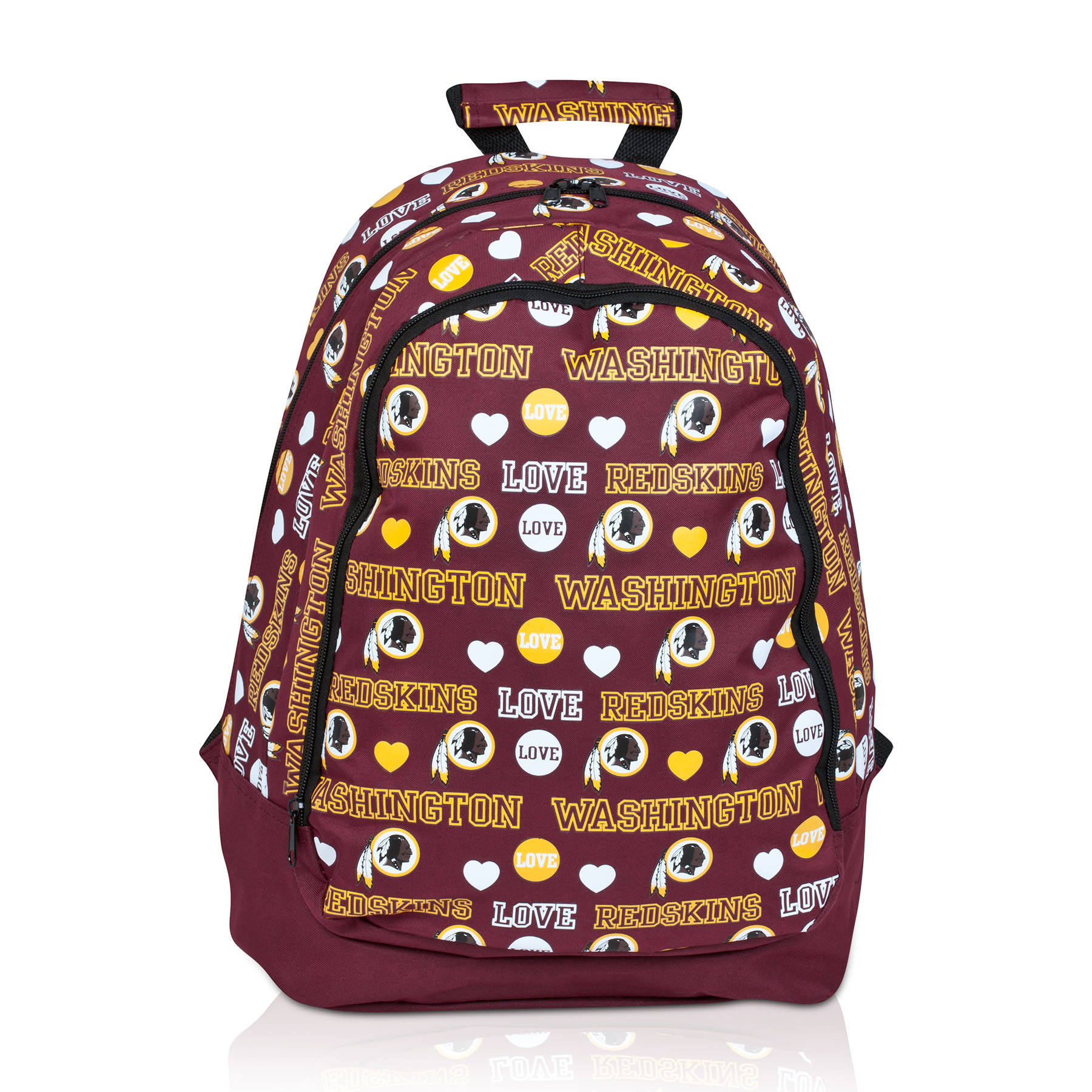 Washington Redskins Mural Love Print Backpack - Womens